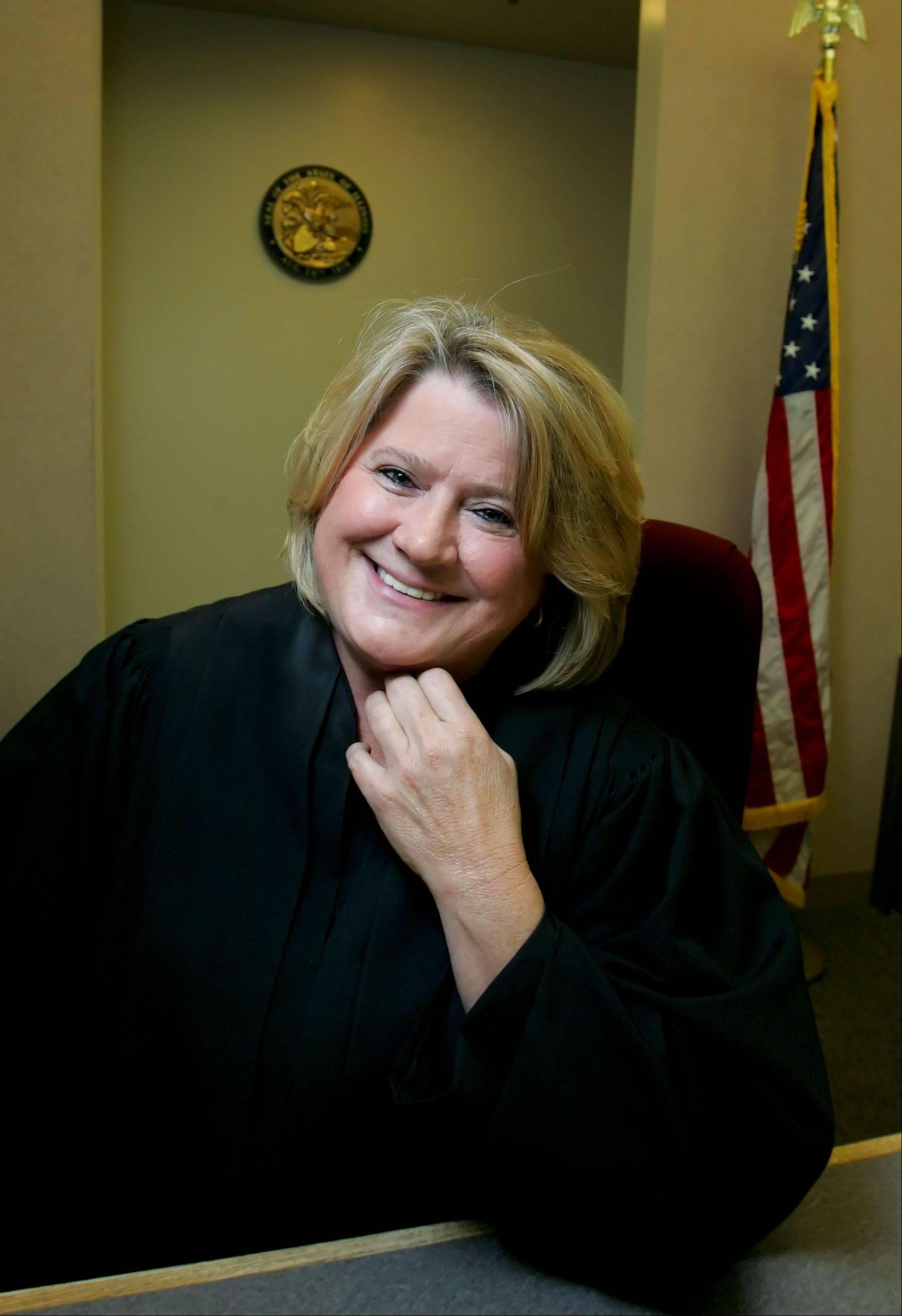Lake County Circuit Judge Valerie Boettle Ceckowski, who presides over Lake County's juvenile courts, is an advocate for the year-old Offender Job Readiness Program. The program trains juvenile offenders to find work and helps place them in jobs.