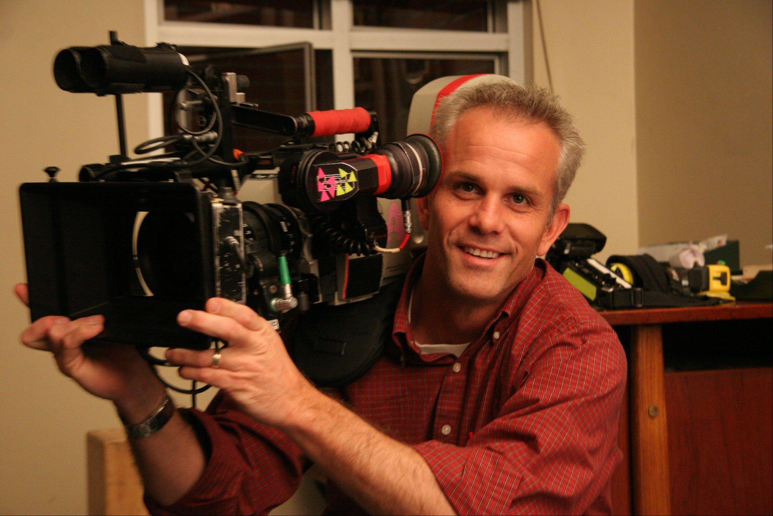 "Palatine native Andrew Mitchell won the Television Camera Operator of the Year Award for his lively work on the hit TV series ""Glee."""
