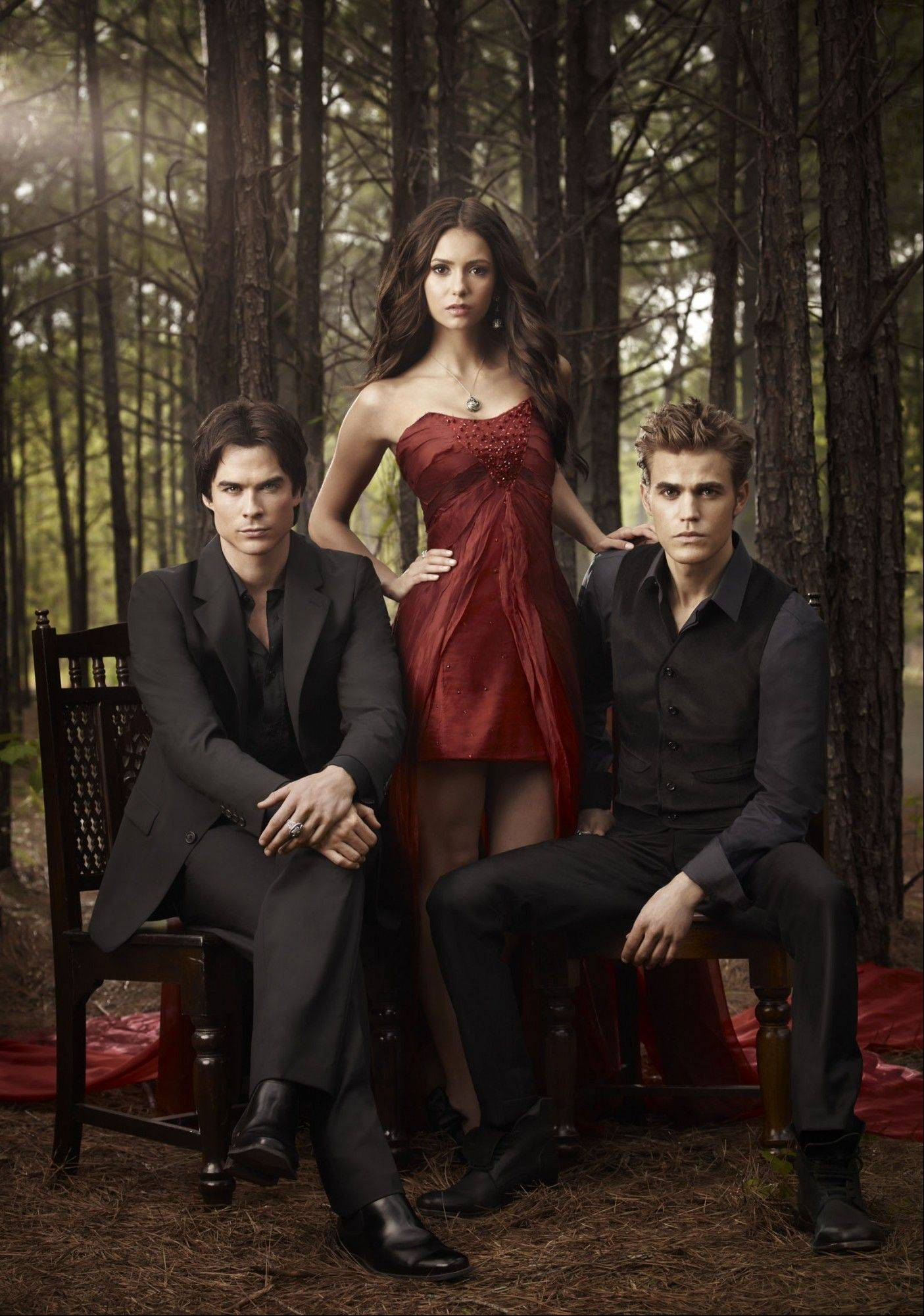 "See Paul Wesley, right, of ""The Vampire Diaries"" at The Vampire Diaries Official Convention on Sunday, April 15, at The Westin O'Hare in Rosemont."