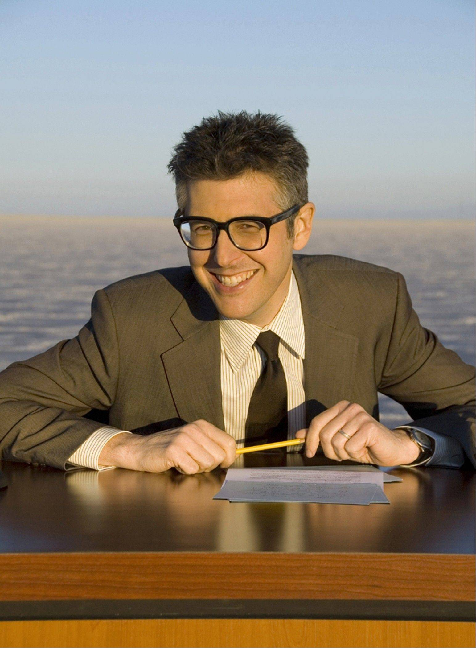 """Reinventing Radio: An Evening With Ira Glass"" features the famed host of ""This American Life"" at the Arcada Theatre in St. Charles on Saturday, April 14."