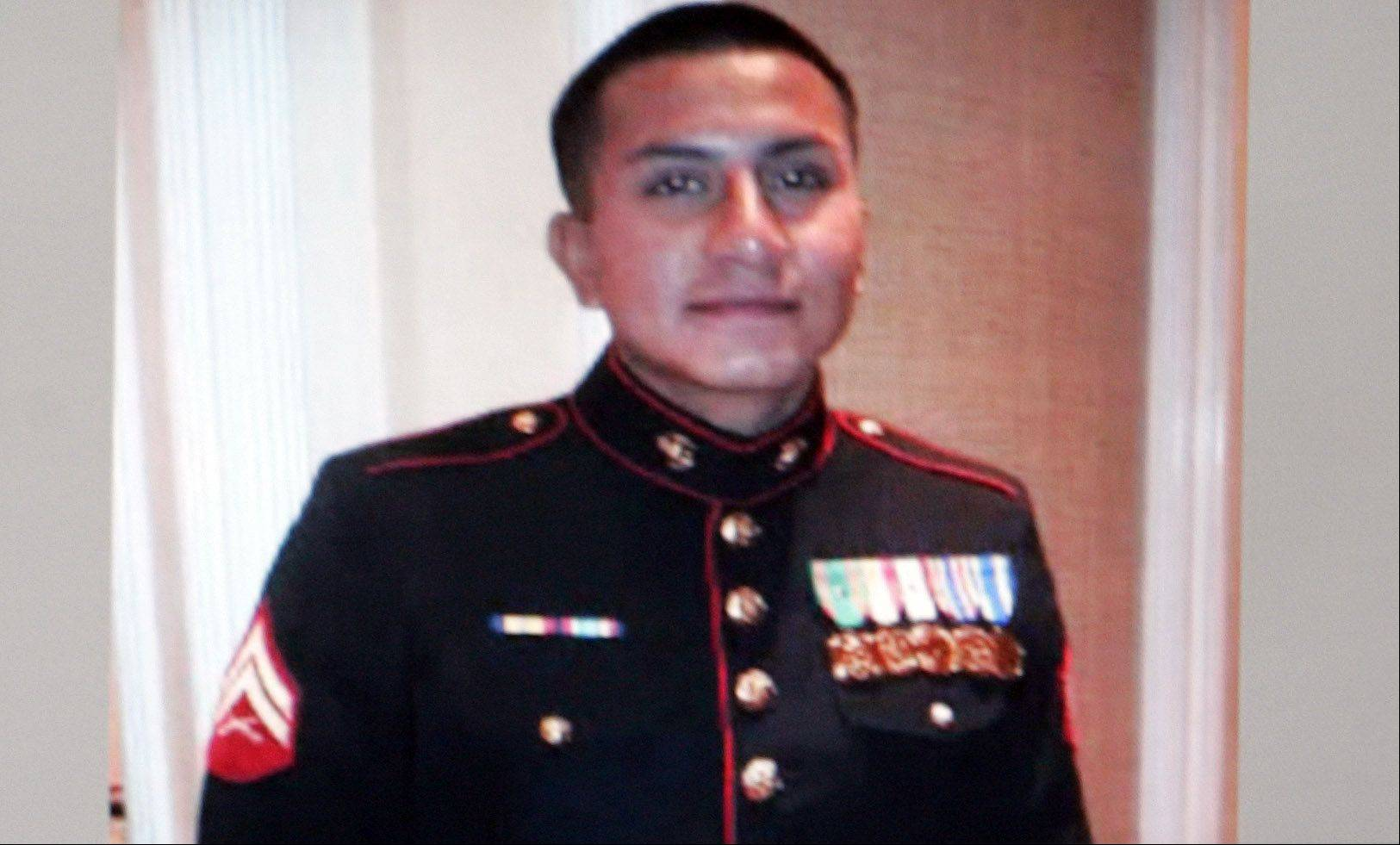 SUBMITTED PHOTOCpl. Alex Martinez, a Marine from Elgin who was killed last week in Afghanistan.