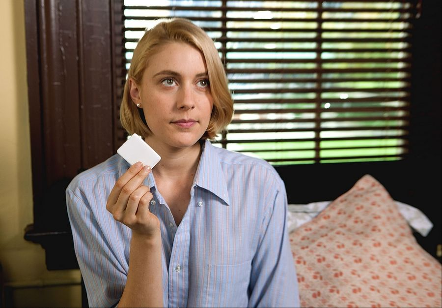 "Actress Greta Gerwig says competitive fencing and ballet helped her win a role as Violet in Whit Stillman's new movie ""Damsels in Distress."""
