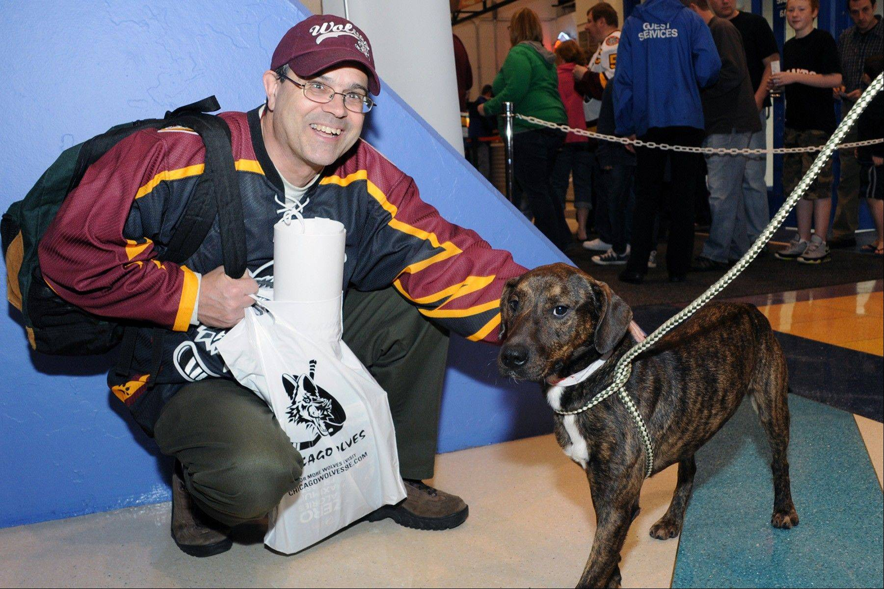 The Wolves will host their annual Adopt-A-Dog promotion on Saturday night, and if 19 fans sign up for the program they will hit the 1,000 mark. The Wolves began supporting the adoption program in 2001.