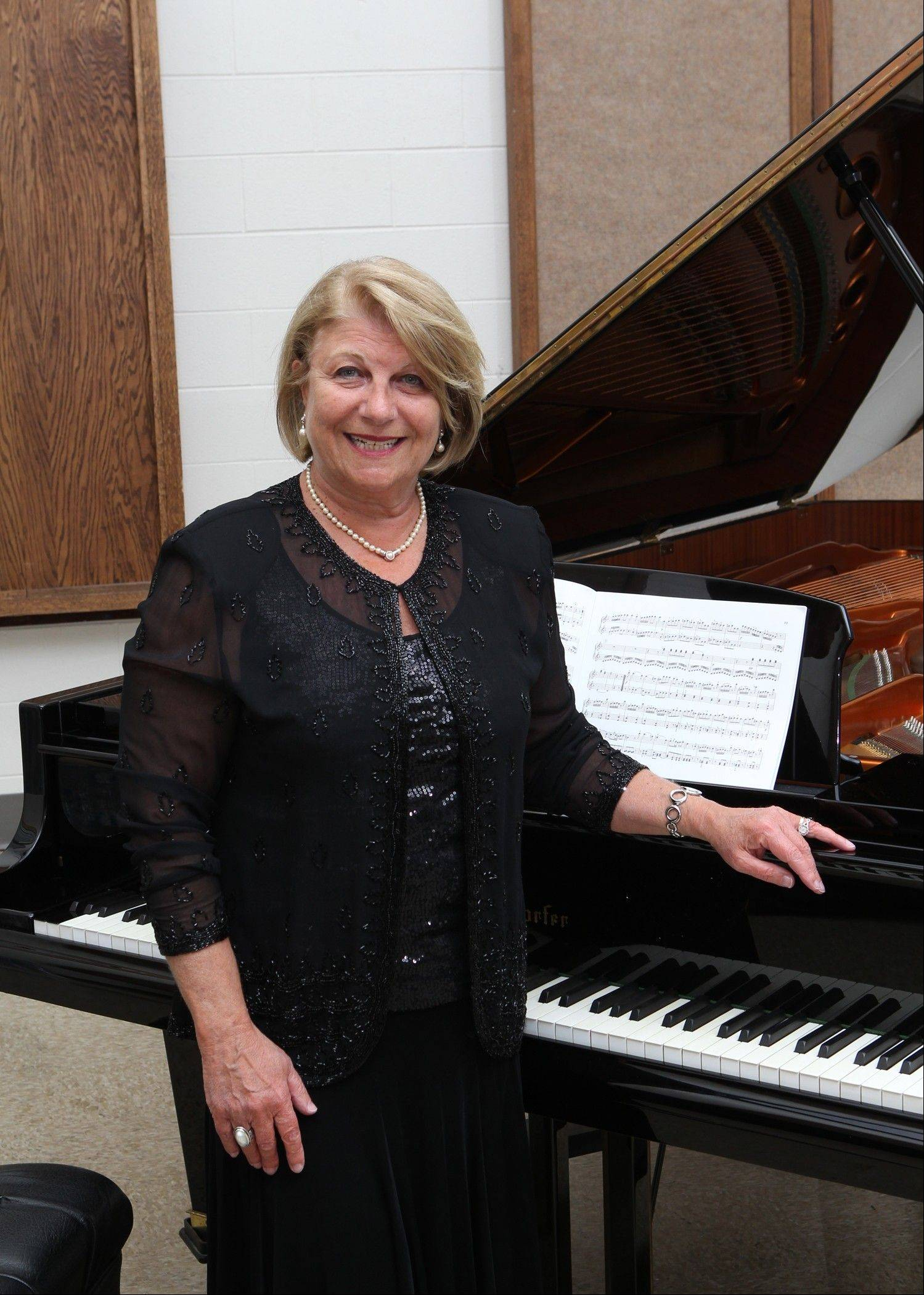 This year, the Six Piano Ensemble will honor Beatriz Levi of Northfield, who is celebrating her 25th year as a member of the group.