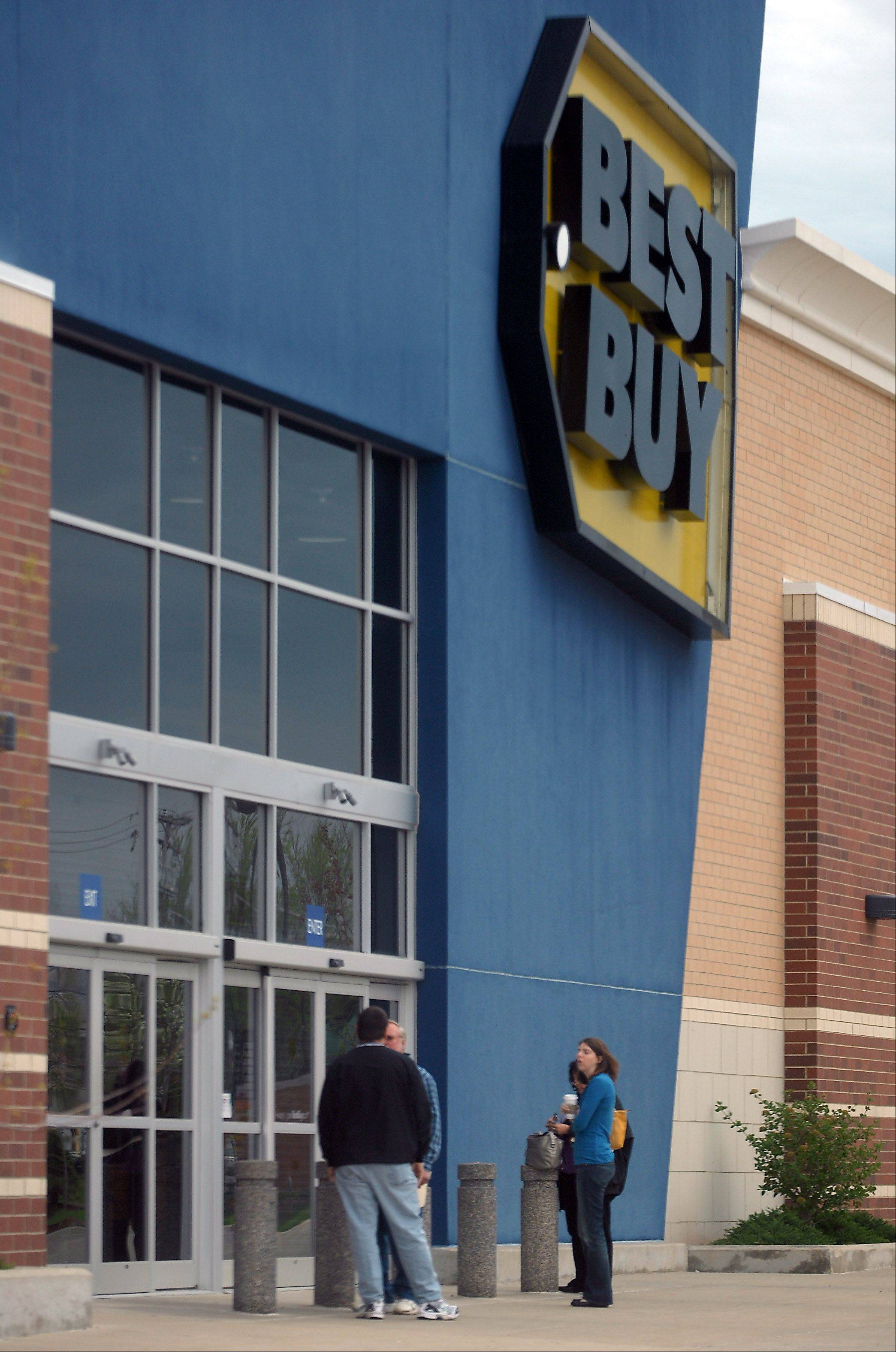 PAUL VALADE/Daily Herald file photoThe Mundelein Best Buy at Routes 60 and 83 is one of six in the Chicago area being closed by the Minneapolis-based electronics retailer.