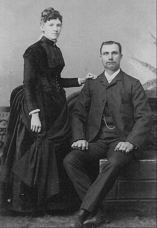 Eliza and William James Elsbury. William James Elsbury was a passenger on the Titanic.