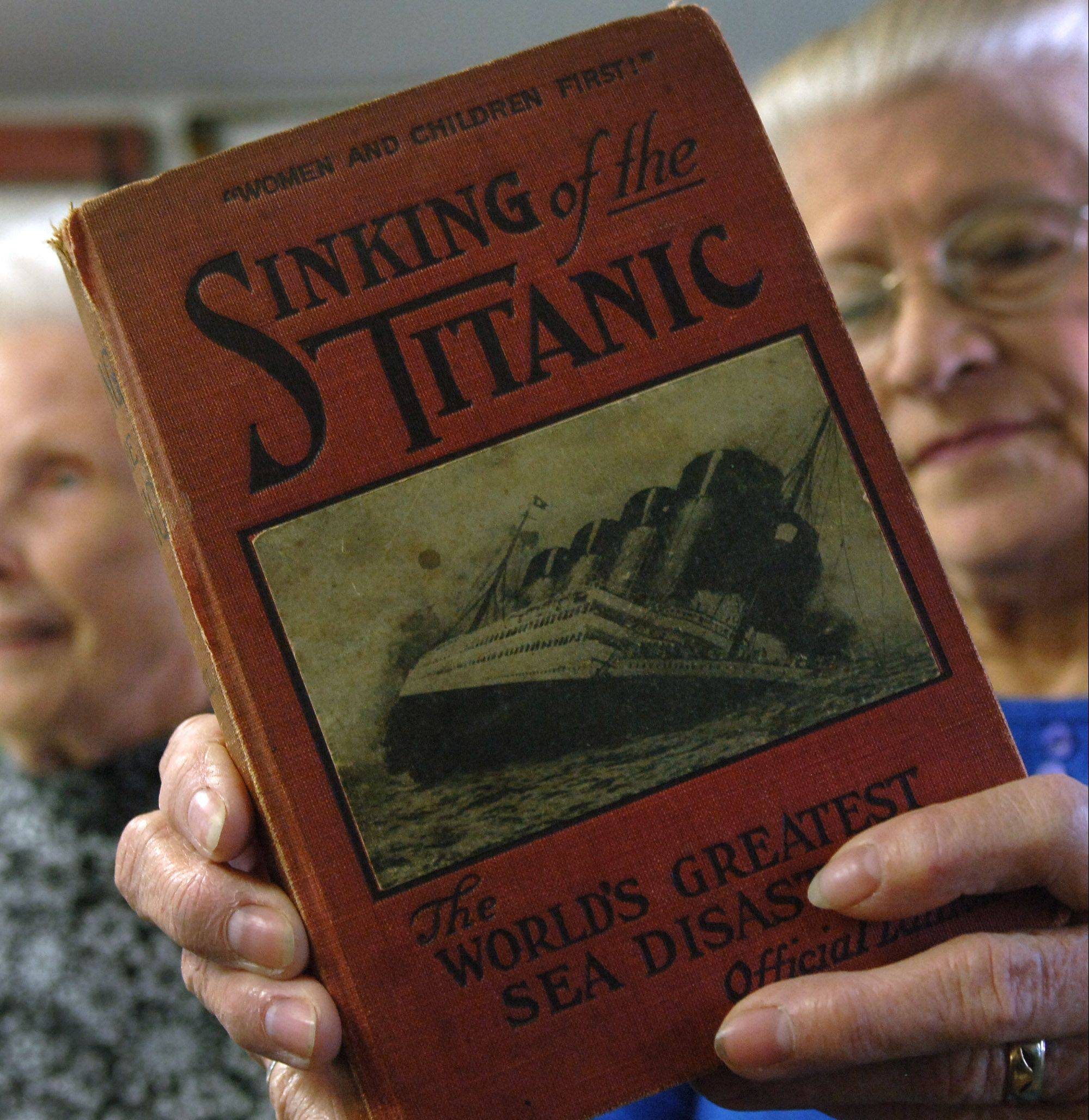 "James Elsbury's name is listed as a passenger who died on the Titanic in the 1912 book ""Sinking of the Titanic."""