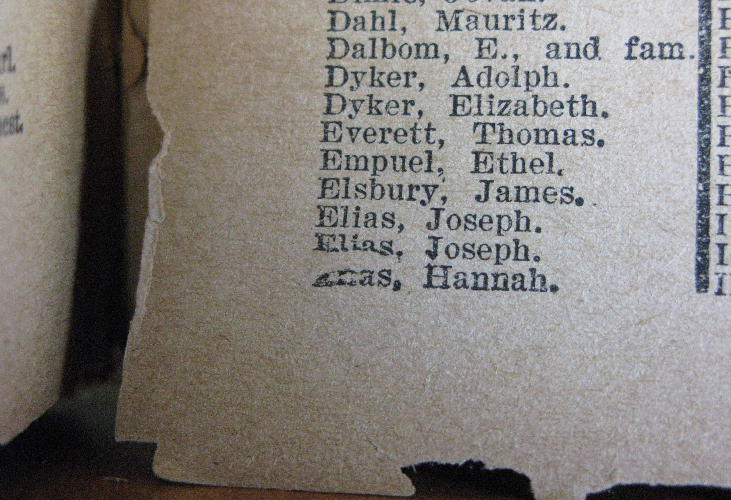 "James Elsbury's is listed among those who perished in ""Sinking of the Titanic"" published in 1912, the year of the disaster."
