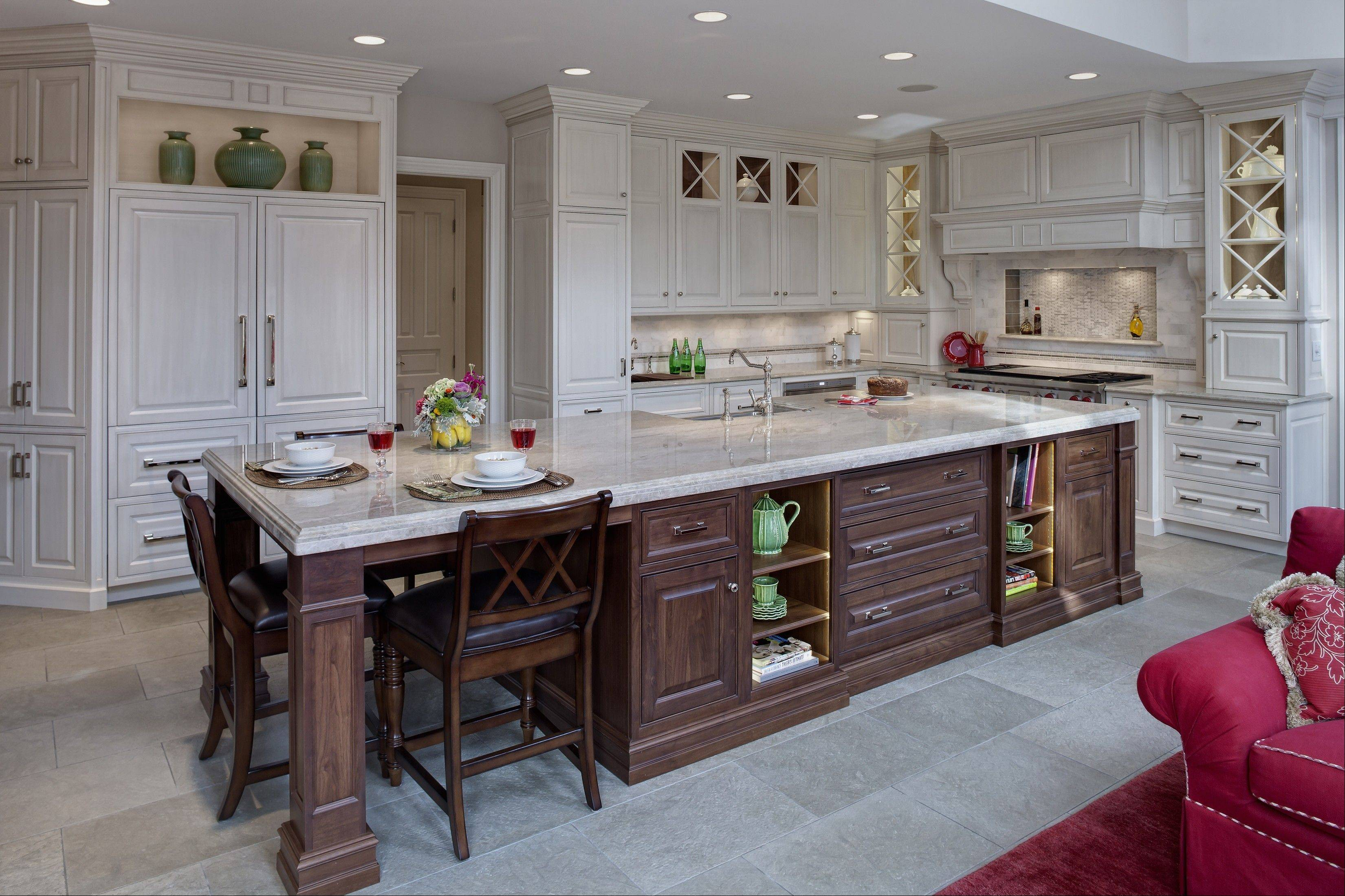 Gail Drury won first place with this Burr Ridge kitchen.