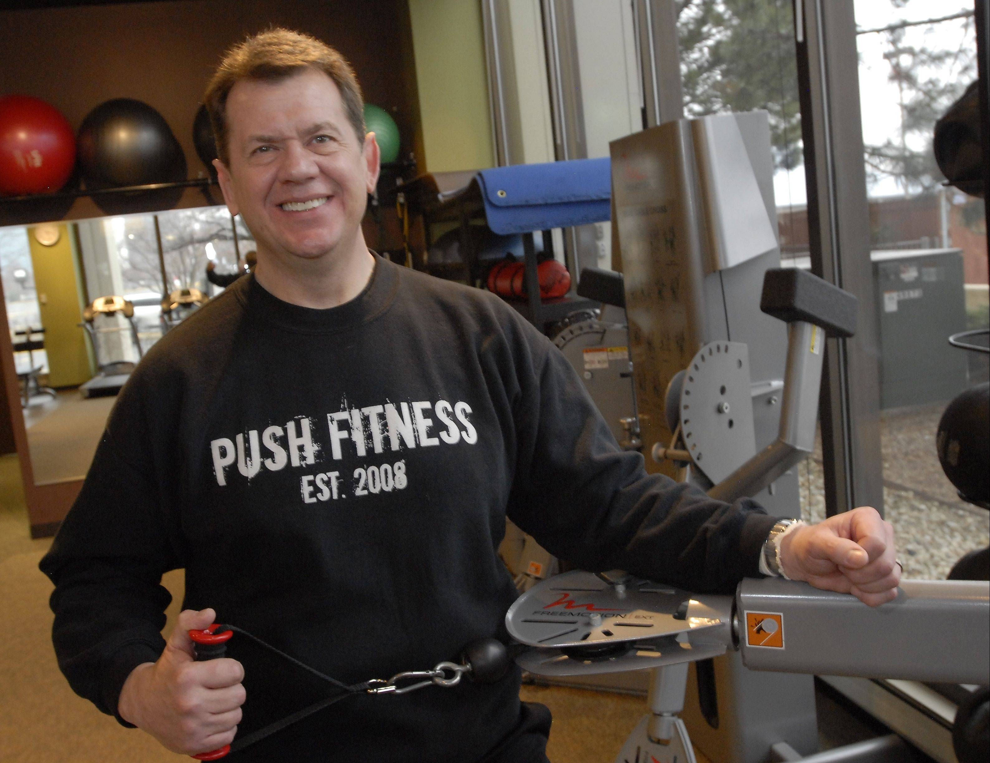 Push Fitness trainer George Gersch