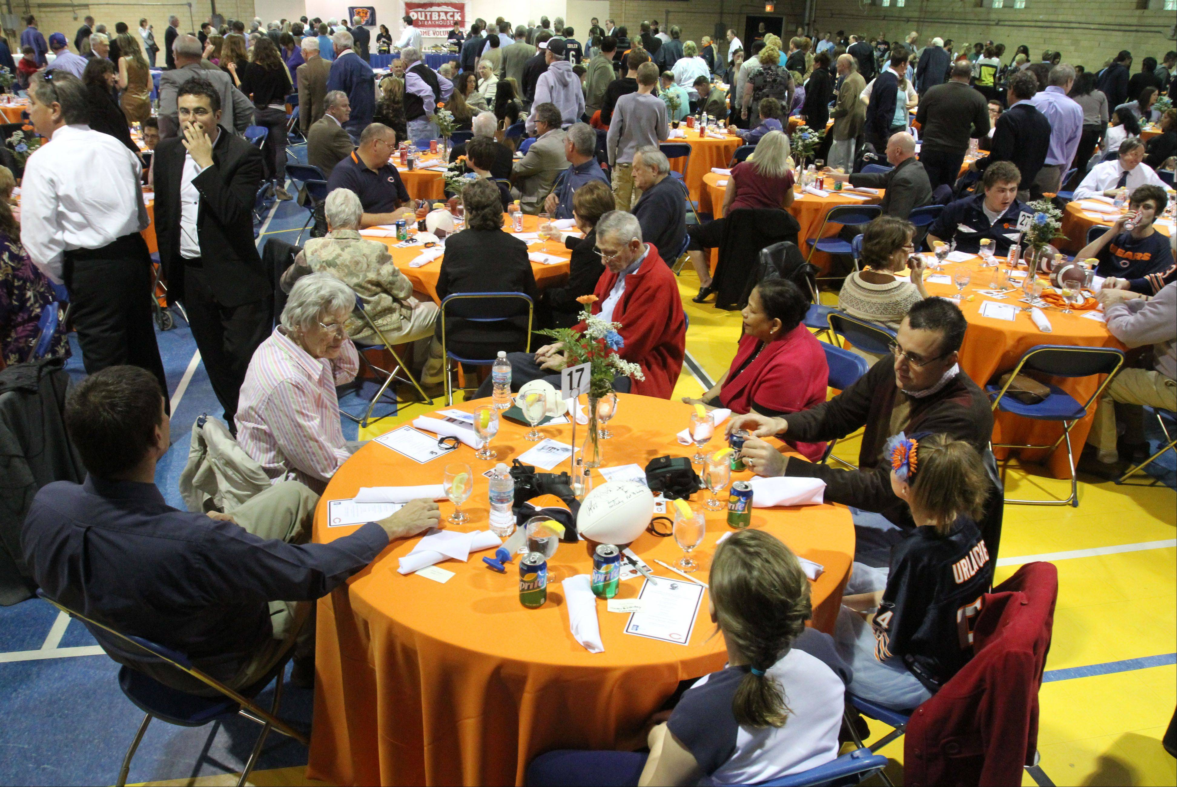 Several hundred attend the Ed McCaskey Scholarship luncheon at Maryville Academy in Des Plaines.