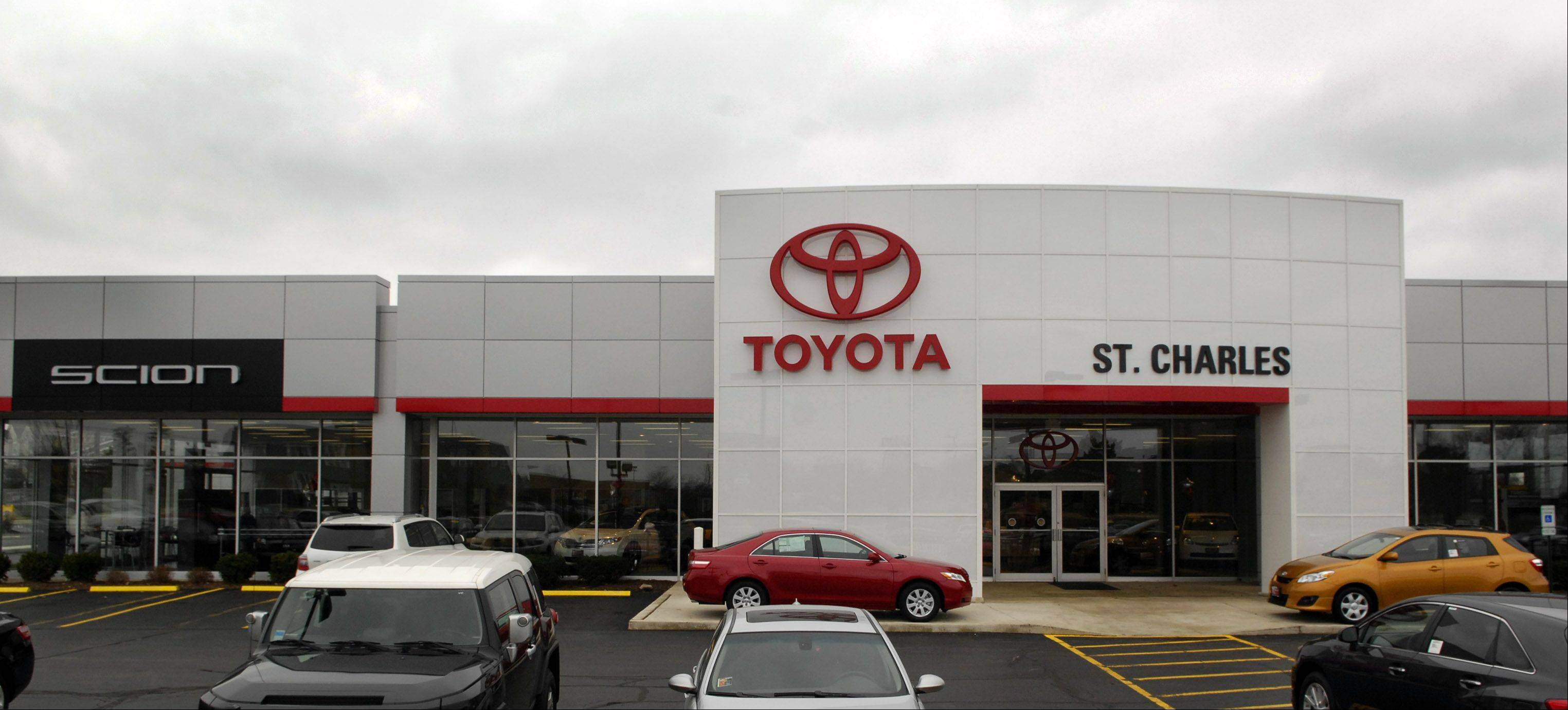 St. Charles leaders are considering a plan to return a portion of the sales tax revenues generated by a city Toyota dealership back to its owner, part of an effort to preserve the city's automobile sales industry.