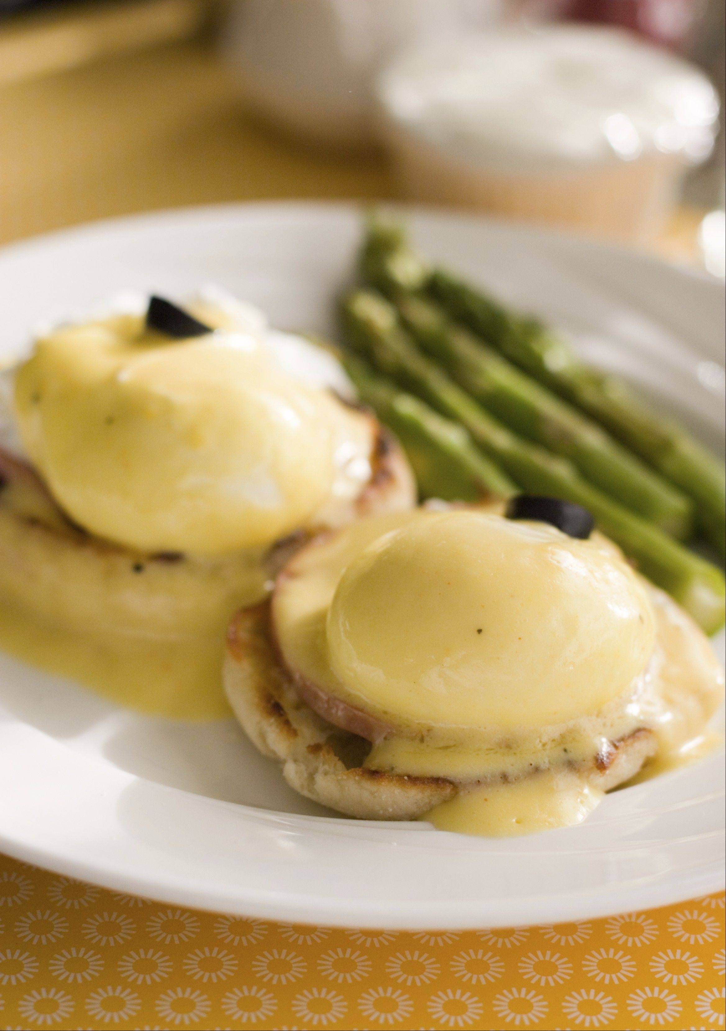 Penny's Just Right Eggs Benedict