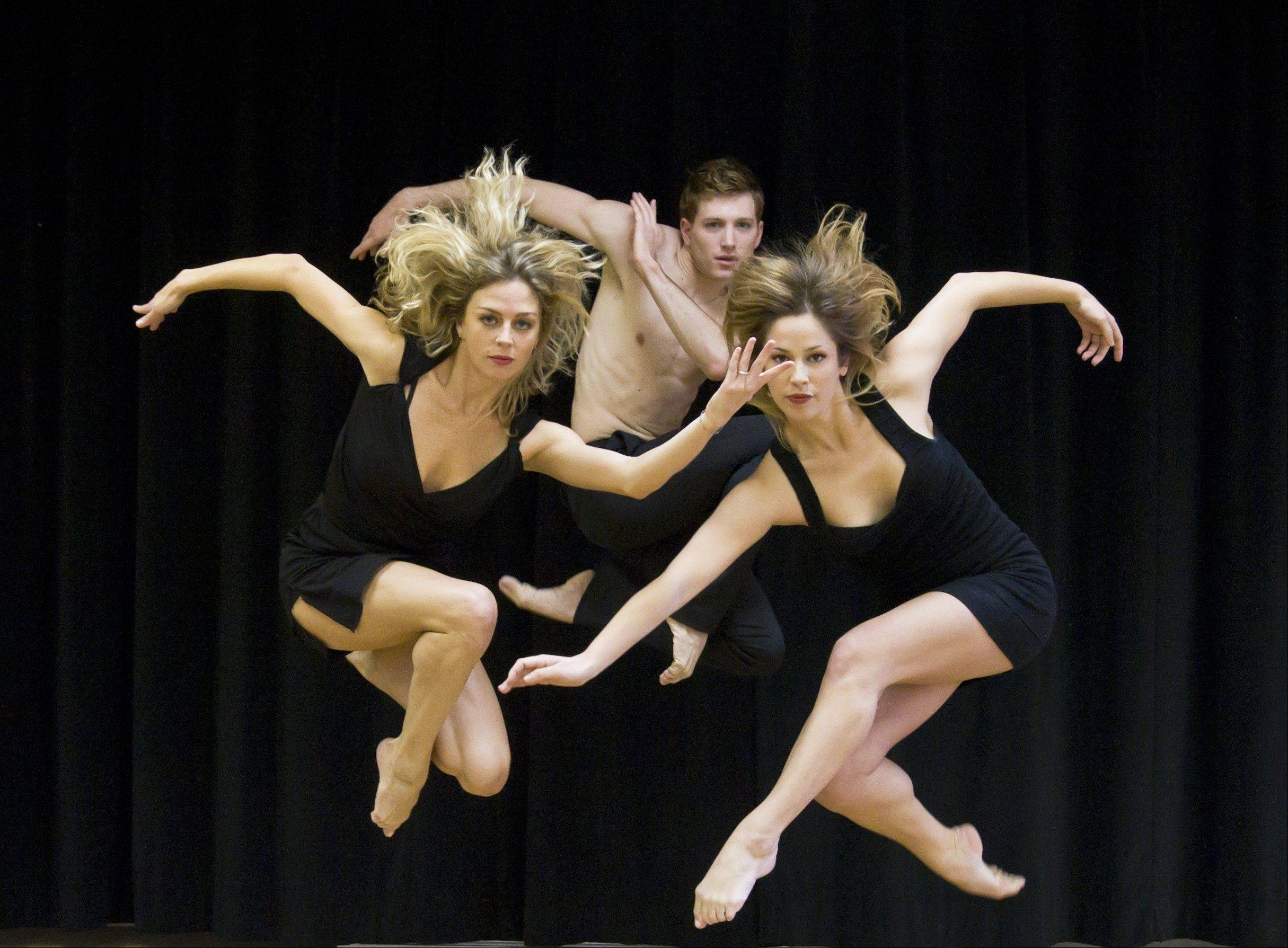 The modern dance troupe Parsons Dance performs at College of DuPage's McAninch Arts Center in Glen Ellyn on Saturday, April 21.