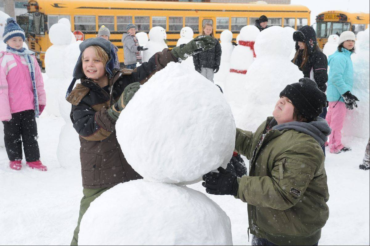 "A scene from the movie ""Snowmen,"" put out by MPower Pictures, a Hollywood movie studio run by Glen Ellyn native John Shepherd."