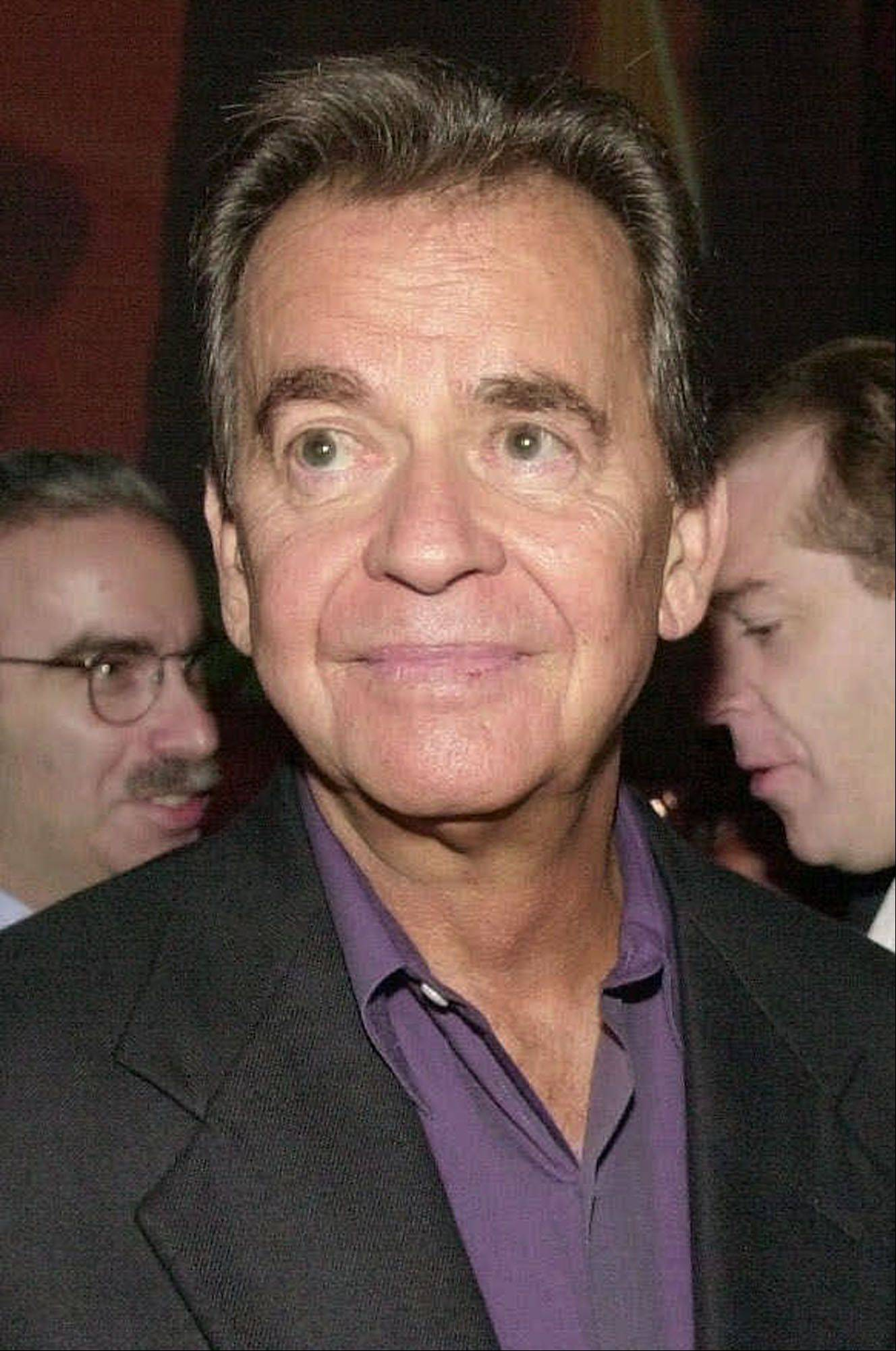 "Television hosts Dick Clark is shown in this Aug. 16, 2001, file photo in Beverly Hills, Calif. In the spring, ABC will mark the 50th anniversary of ""American Bandstand'' with a two-hour prime-time special. Clark, 71, will show classic moments from the shows as well as new performances by music superstars spanning five decades."