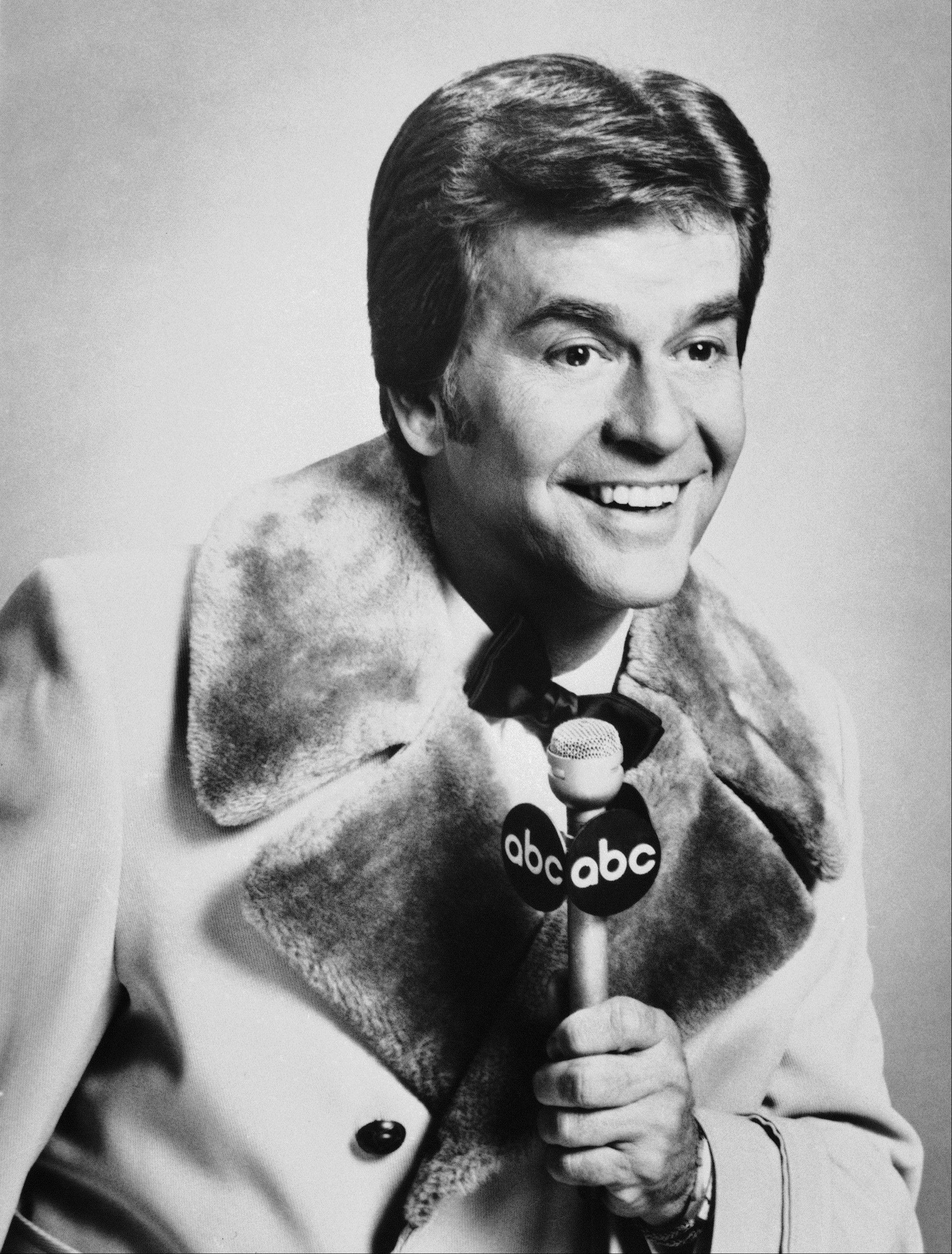"Dick Clark is shown. Clark, the television host who helped bring rock `n' roll into the mainstream on ""American Bandstand,"" has died. He was 82. Spokesman Paul Shefrin says Clark died but did not provide further details. Clark had continued performing even after he suffered a stroke in 2004 that affected his ability to speak and walk."