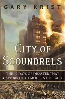 """City of Scoundrels"" will be available for purchase through the Lake Forest Bookstore at the April 25 event."