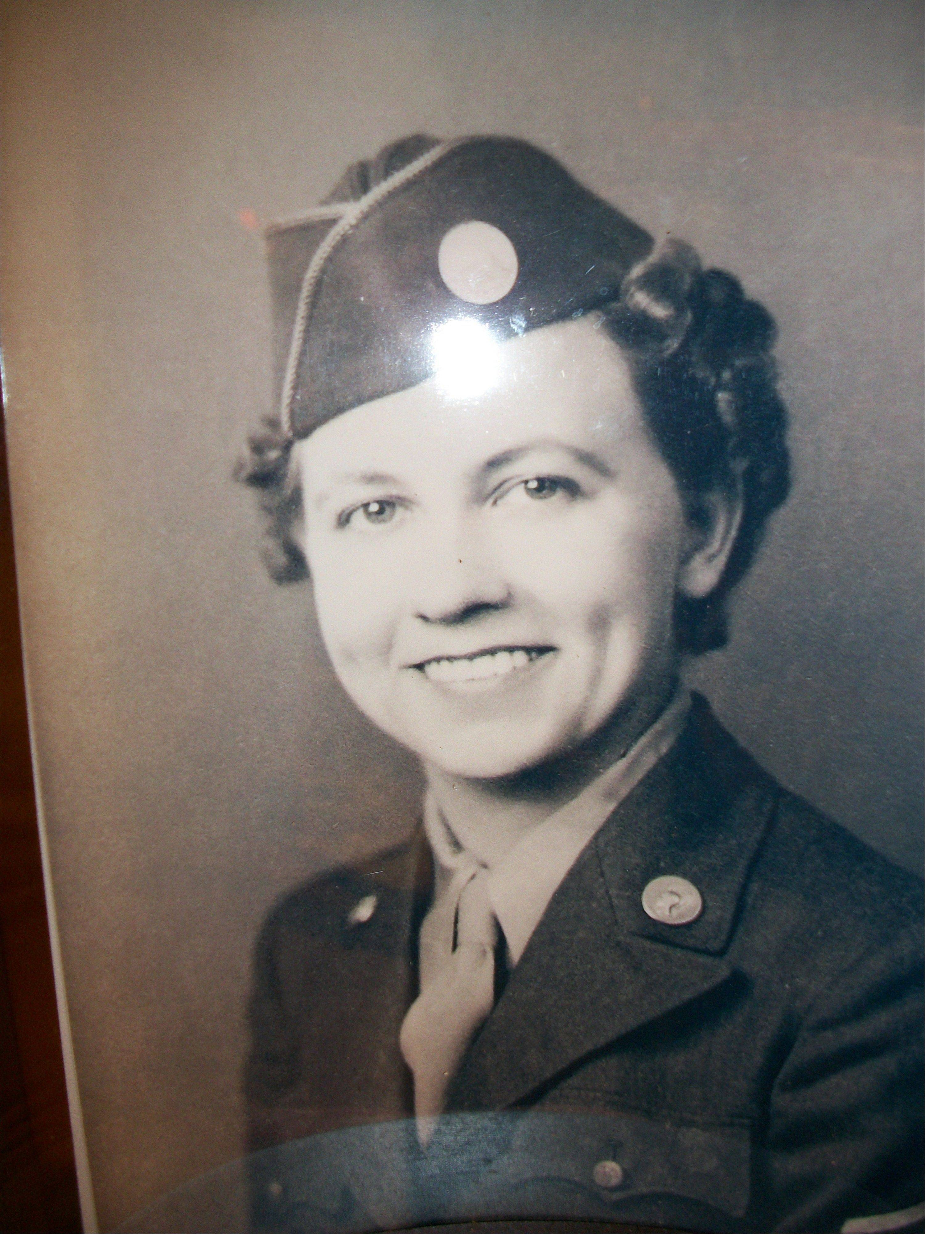 Wisconsin farm girl Wanda Cukla served as a baker in the Army.