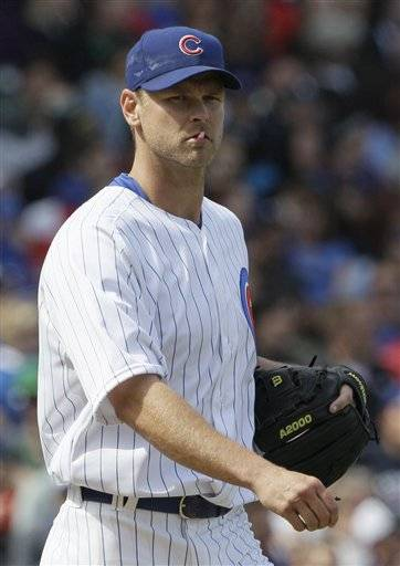 Cubs put Wood on DL ... Dempster next?