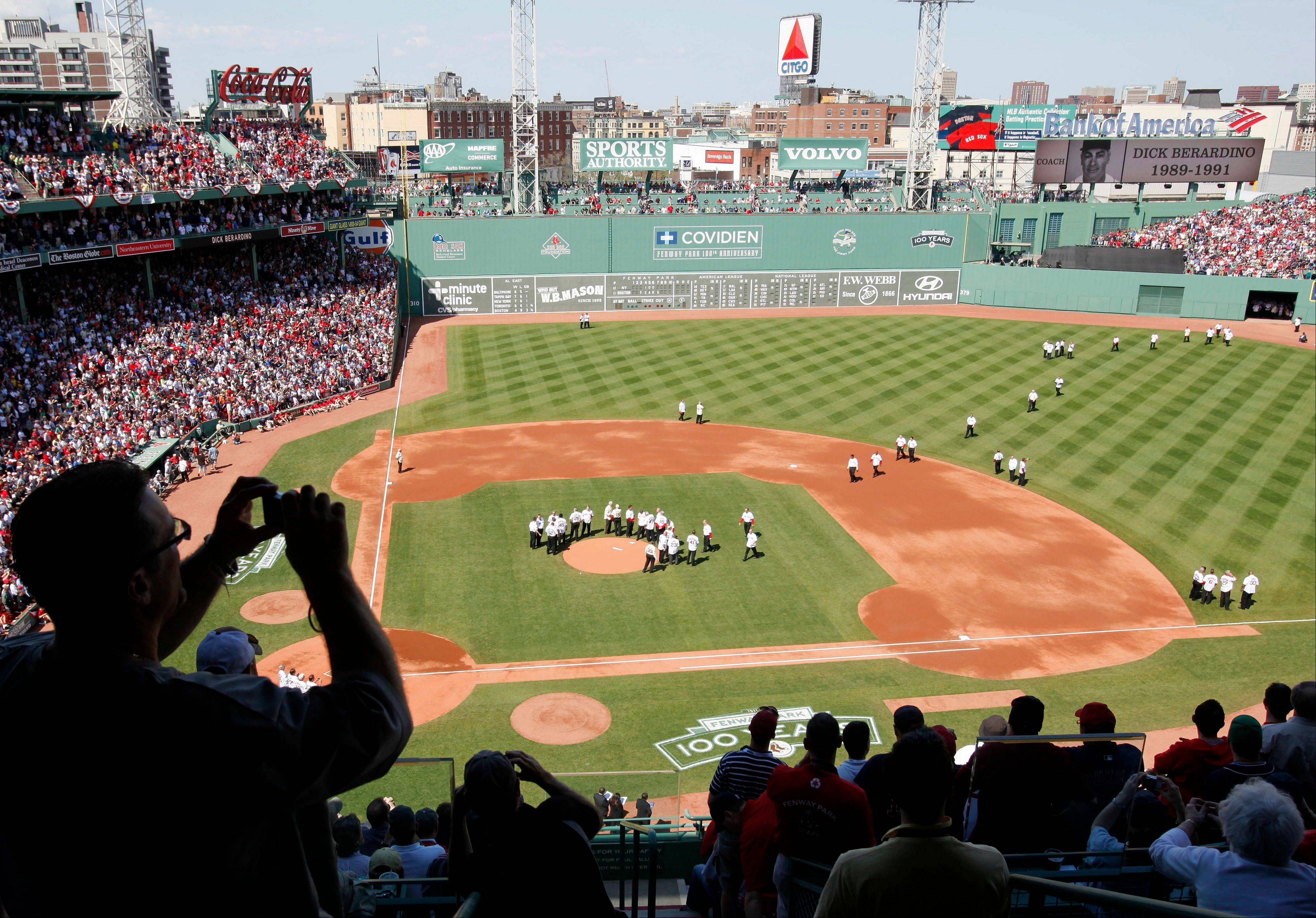 What the Boston Red Sox have accomplished with Fenway Park, which celebrated its 100th anniversary Friday in a special ceremony, is a good blueprint for the Cubs and Wrigley Field, says baseball columnist Matt Spiegel. Boston has been able to generate more revenue and put it back into the team, a formula that could help the Cubs.