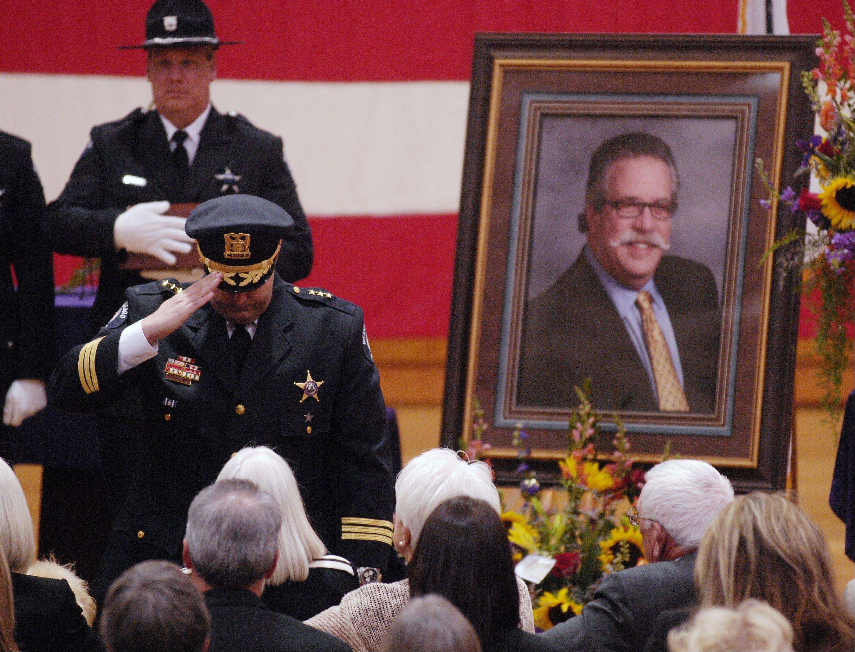 Family, friends pay tribute to W. Chicago mayor