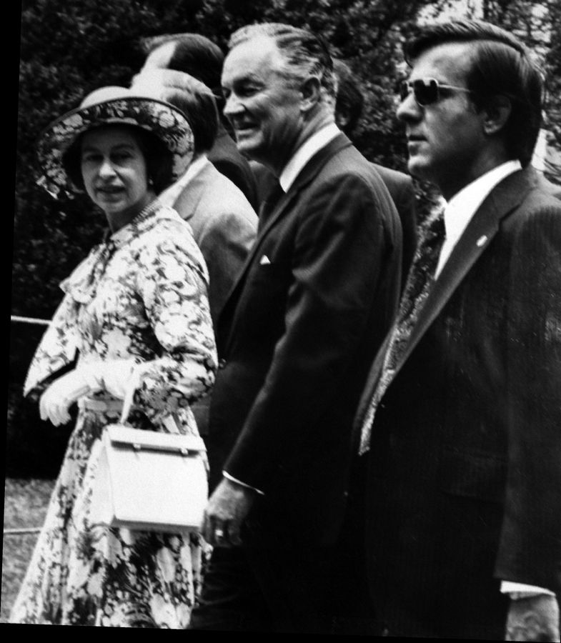 Giannoules worked as a Secret Service agent in 1962 with Queen Elizabeth and Prince Philip.