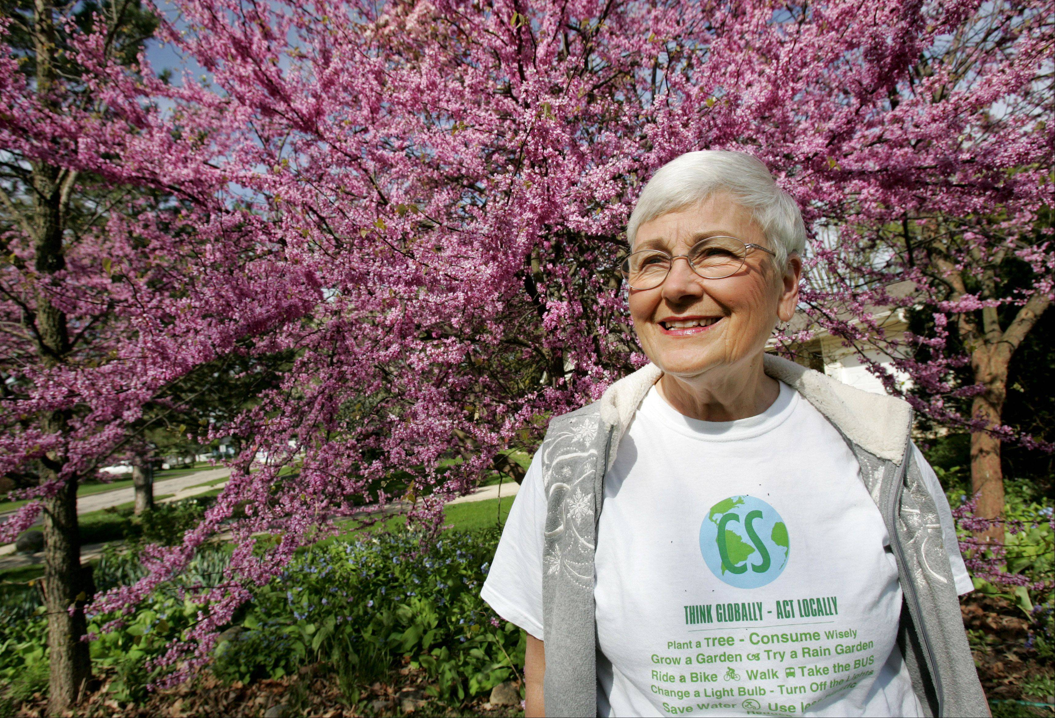 "Jan Smith, an environmental activist from Carol Stream, says she has a passion for such causes because of her faith. ""Part of my seeing God is in what God has created,"" she says. ""What we do in my generation affects future generations."""