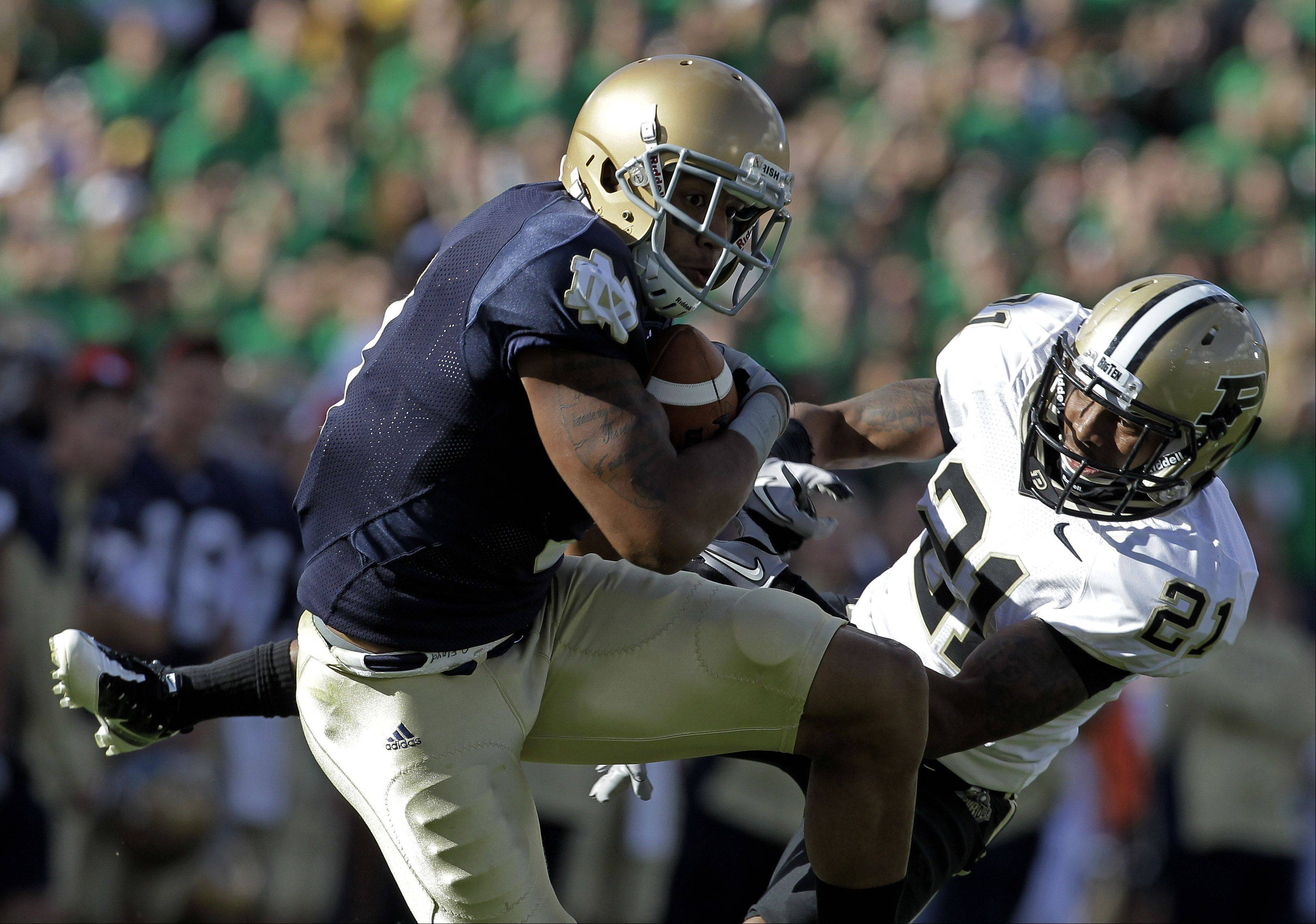 Notre Dame wide receiver Michael Floyd is projected by many experts to off the board by the time the Bears pick.