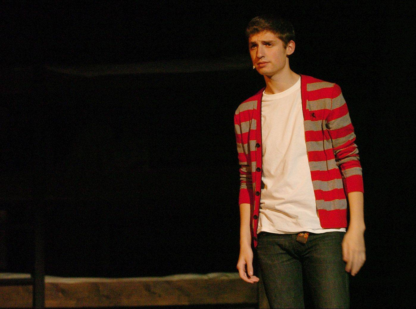 Spencer Armstrong as Ed Silverberg, who walked Anne Frank to school before the war.