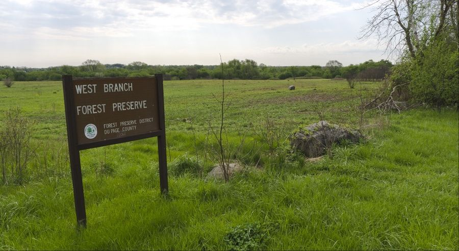 The West Branch Forest Preserve gained one of 43 properties purchased by the DuPage County Forest Preserve within the last five years. The funds came from a $68 million tax increase, which voters approved in 2007.