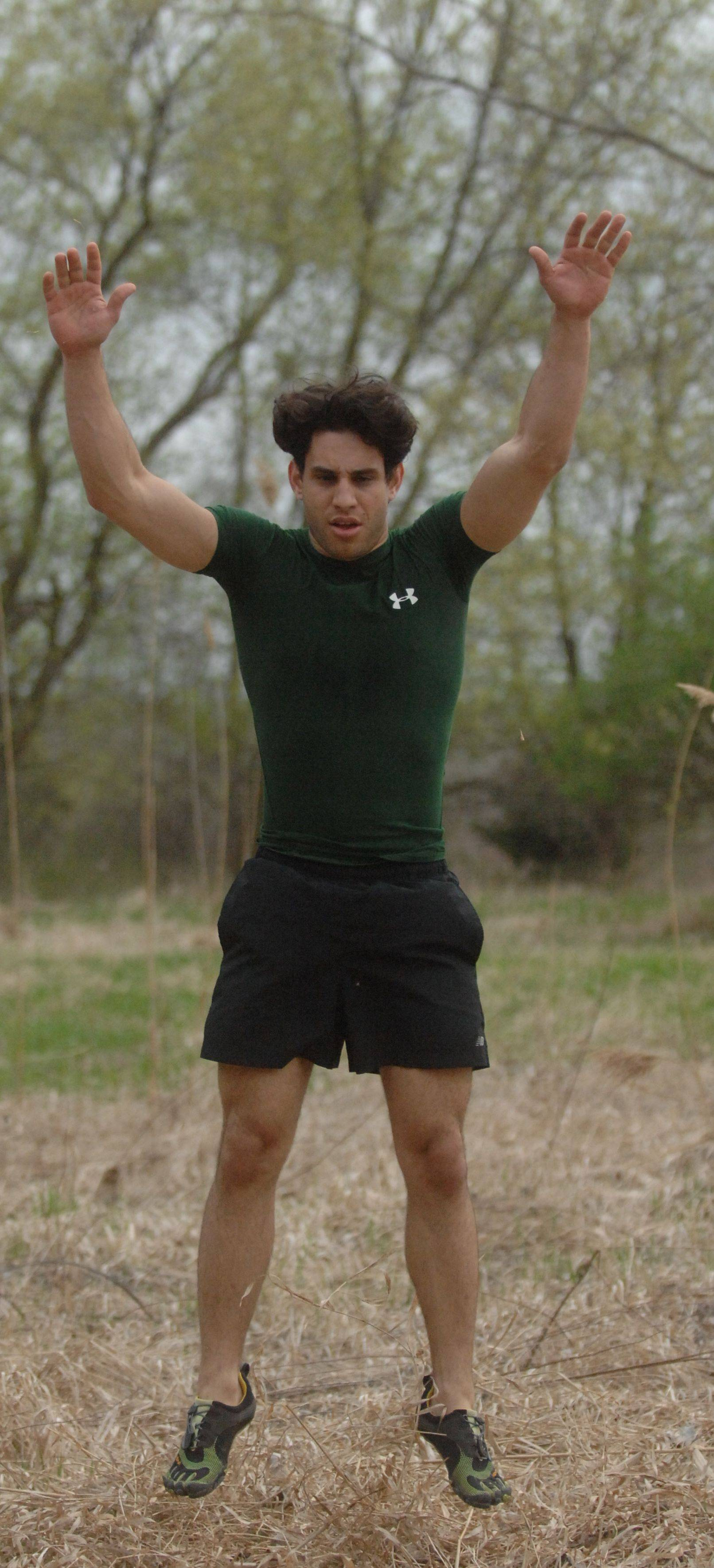 Anthony Matesi of Carol Stream is in training for his first Death Race in Vermont on June 15.
