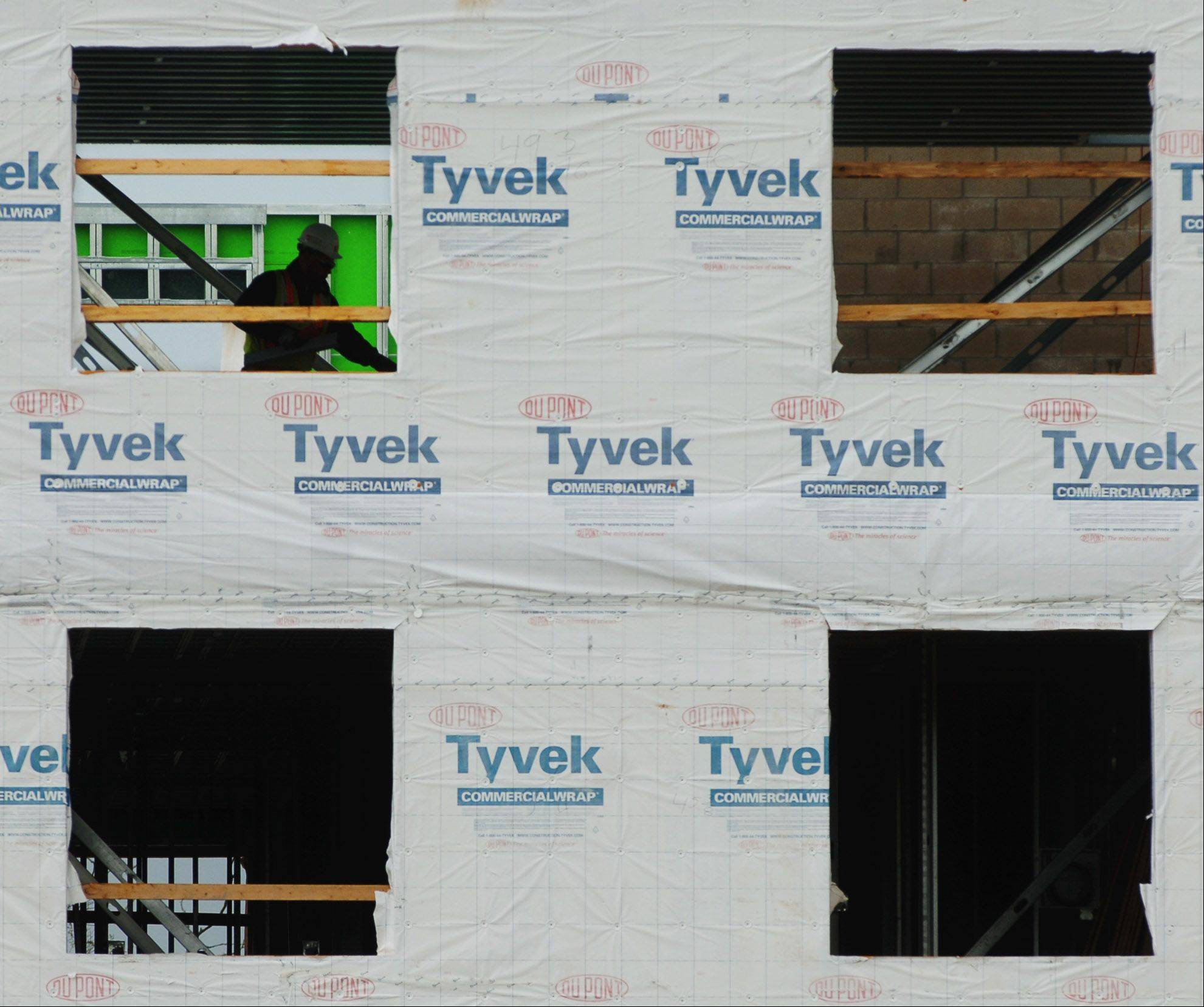 A new low-income apartment complex for tenants 55 and older called Lakefront Lodge is taking shape on the west side of Grayslake. Construction continues Thursday on the 70-unit complex being built just south of the village's namesake, Gray's Lake.
