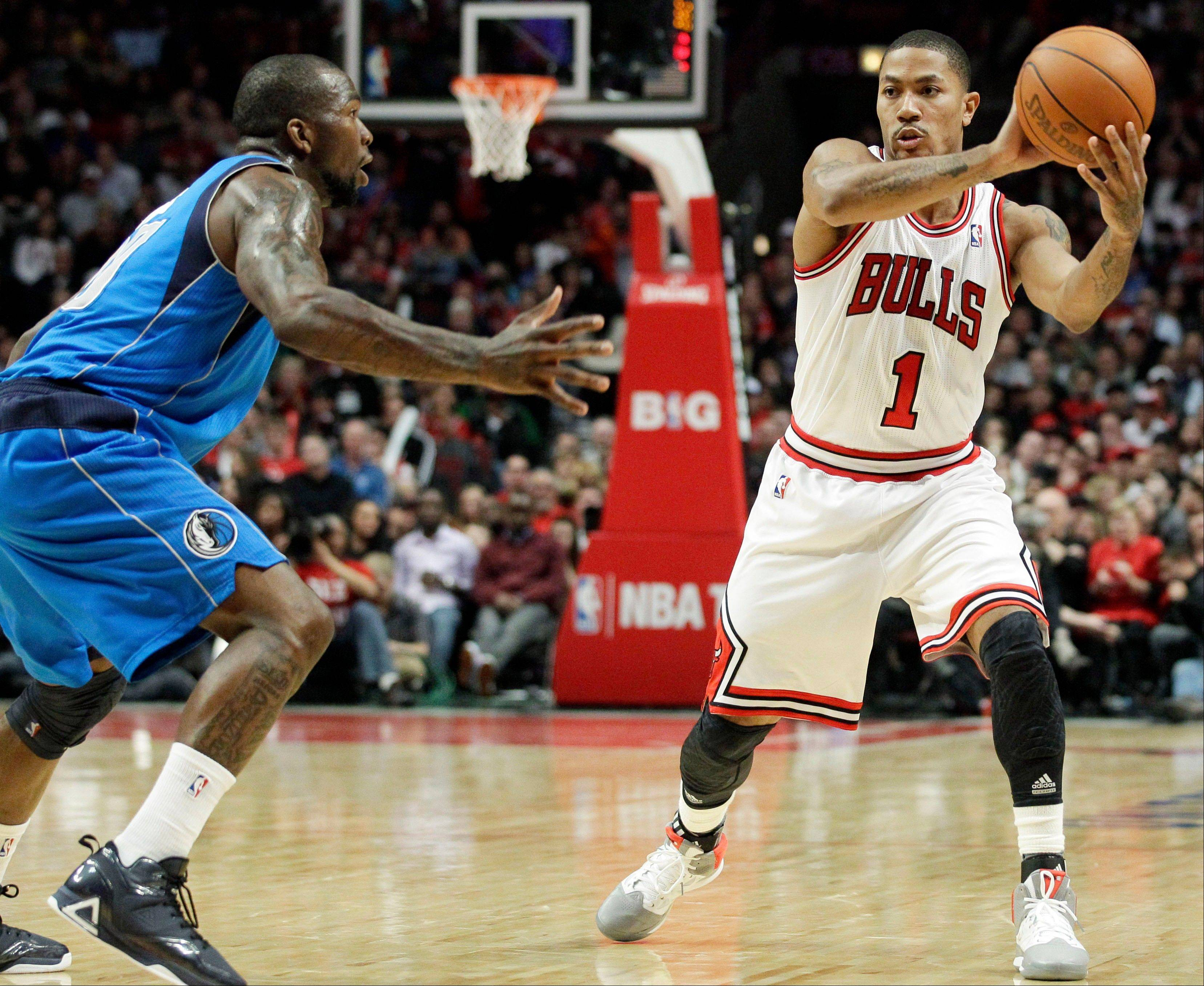 Guard Derrick Rose and the Bulls have two regular-season games remaining to get set for the playoffs.