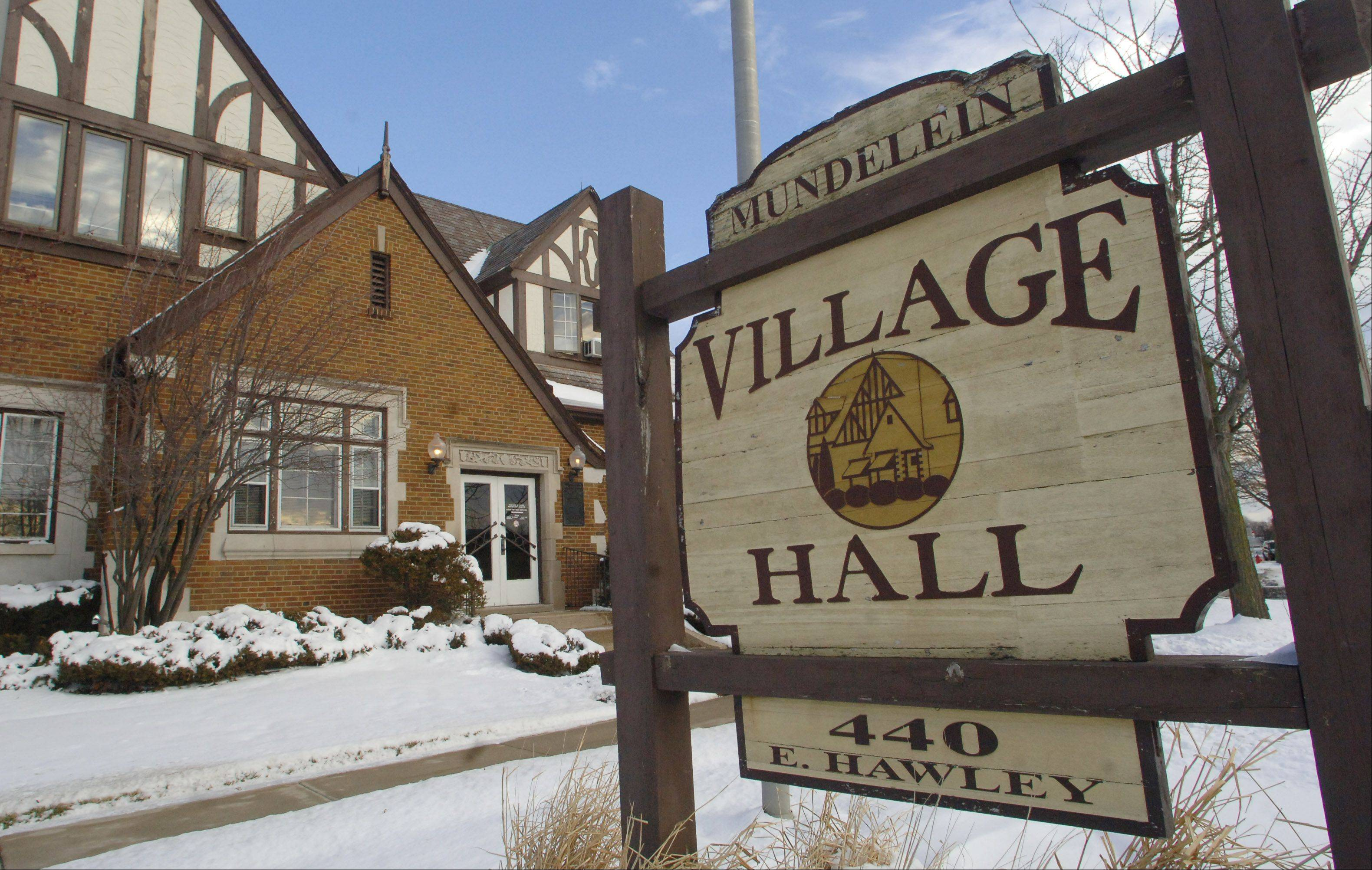 Mundelein's new budget includes millions for village hall construction