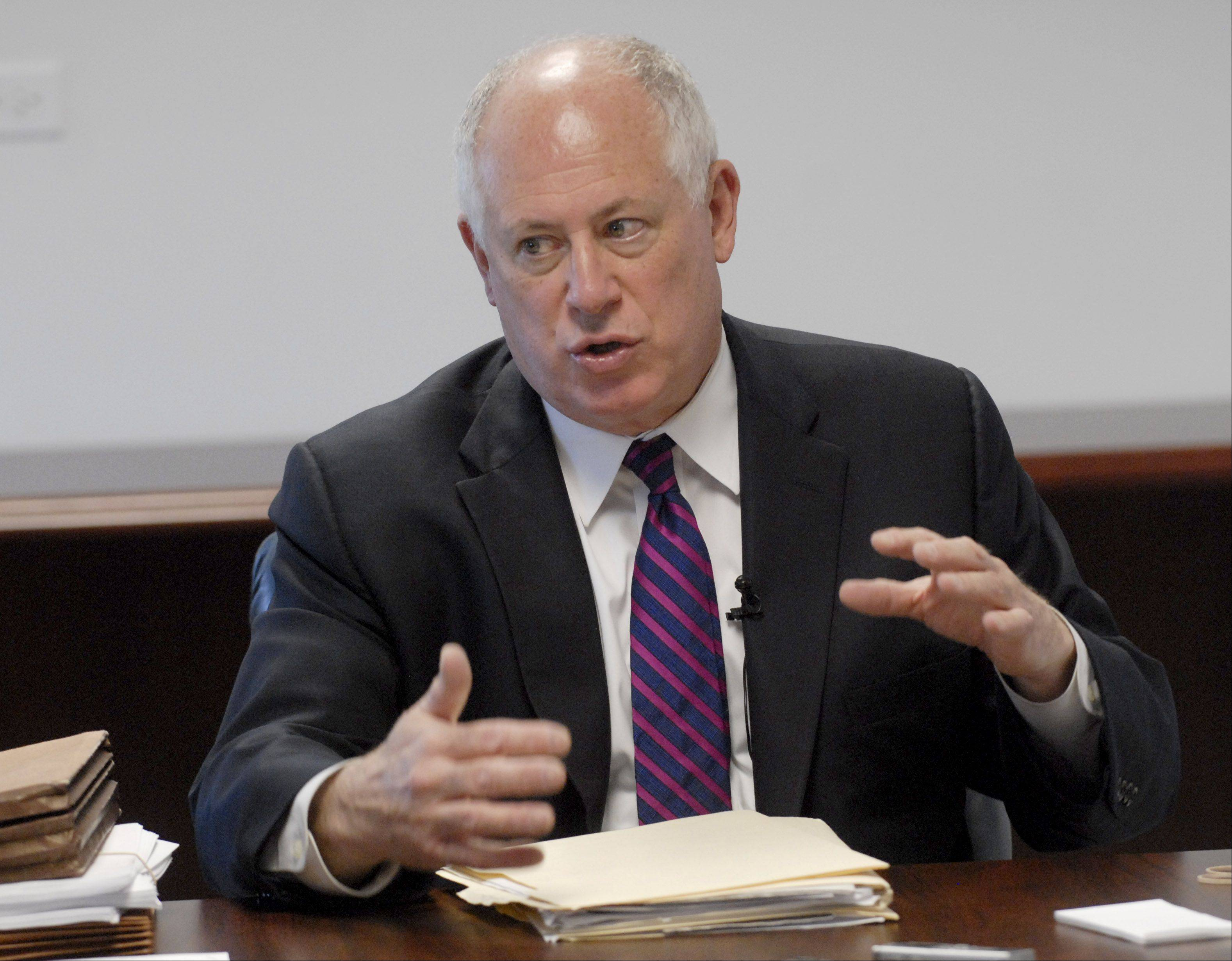 Quinn: No hurry to shift pension costs on schools