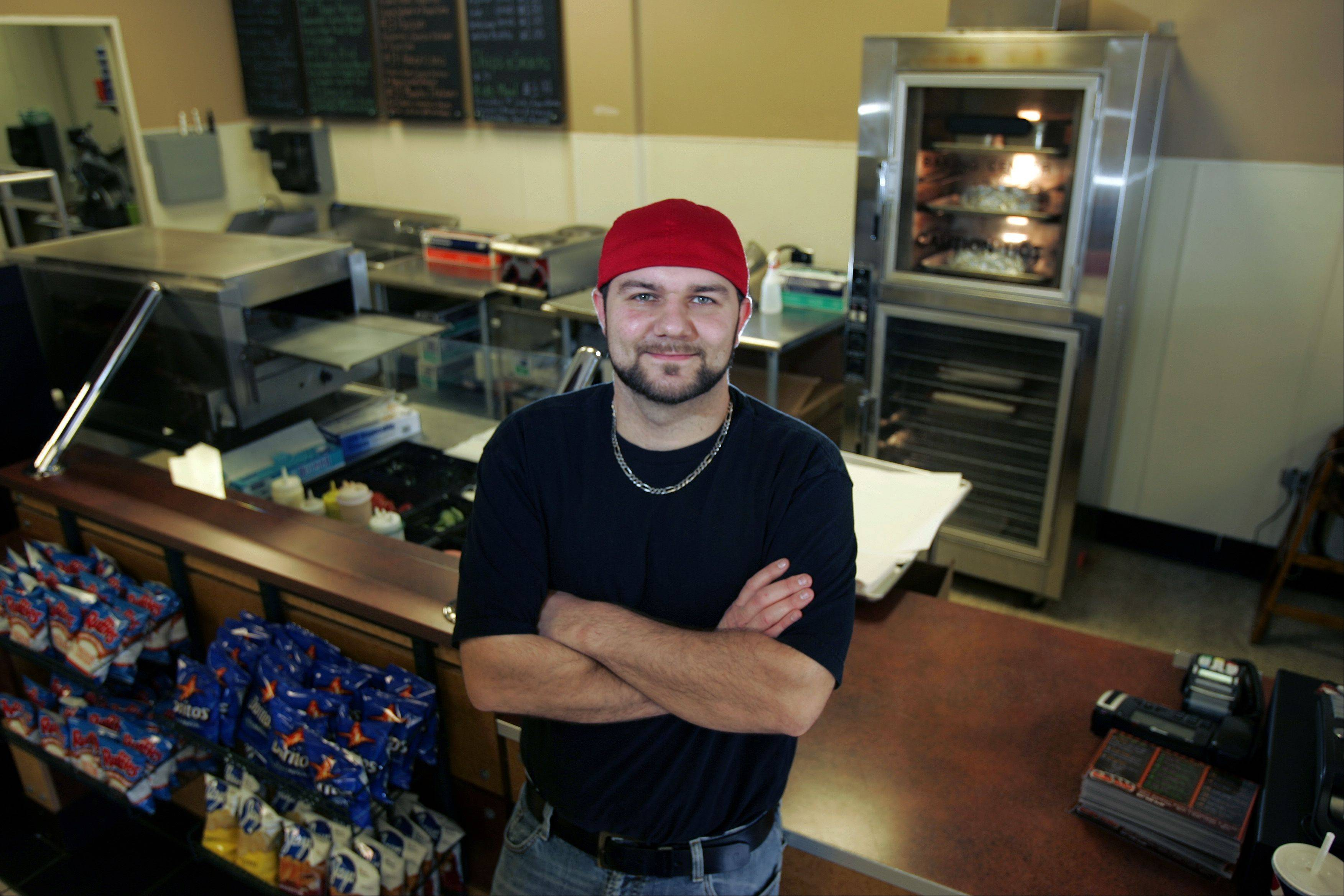 Dominick Pulli opened his sandwich shop, Bubs Subs, on Randall Road in Algonquin last August, and he says business has been great ever since.