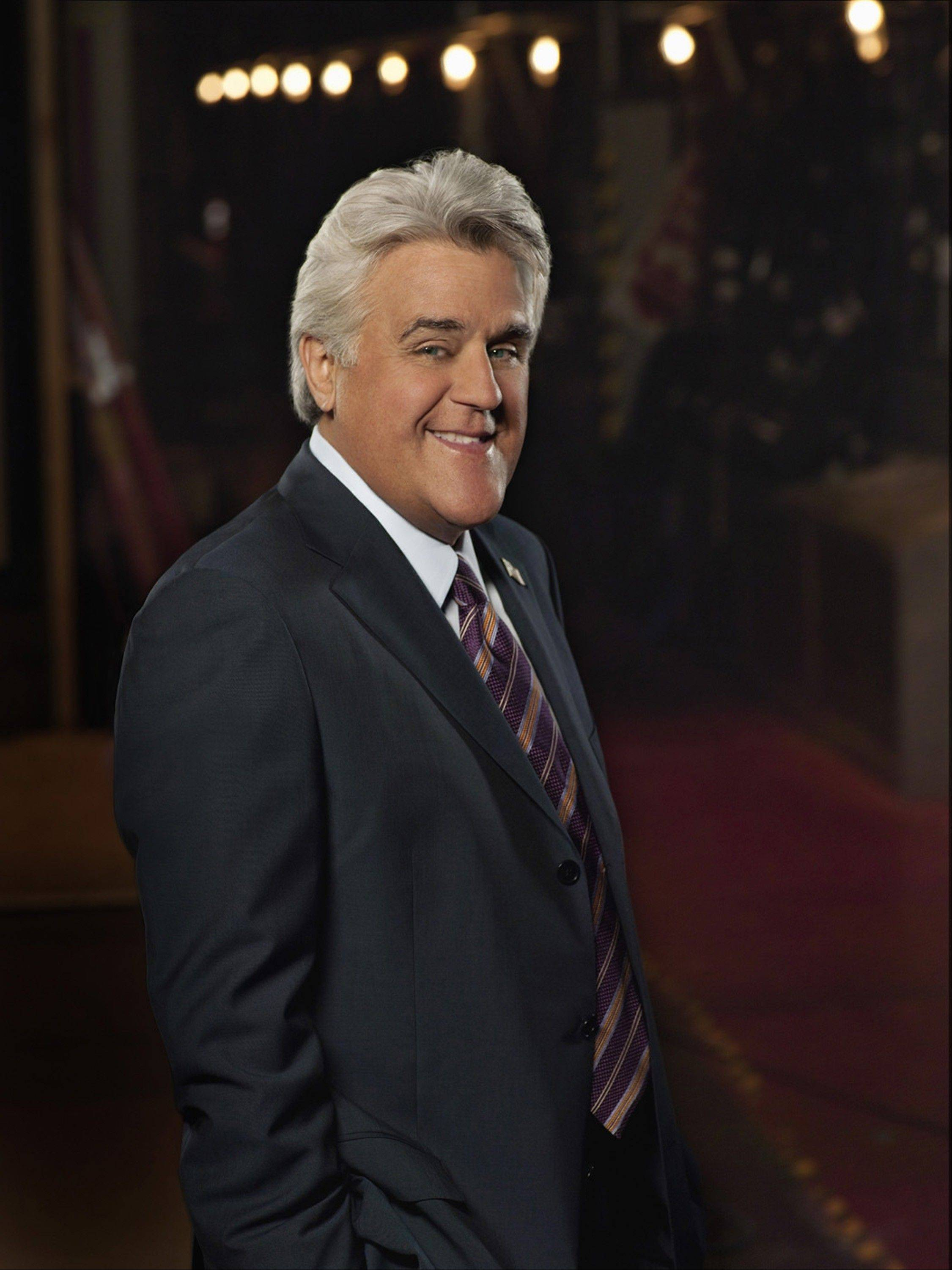 Jay Leno will perform Saturday, April 28, at the Cadillac Palace Theatre in Chicago at a benefit for OMNI Youth Services.