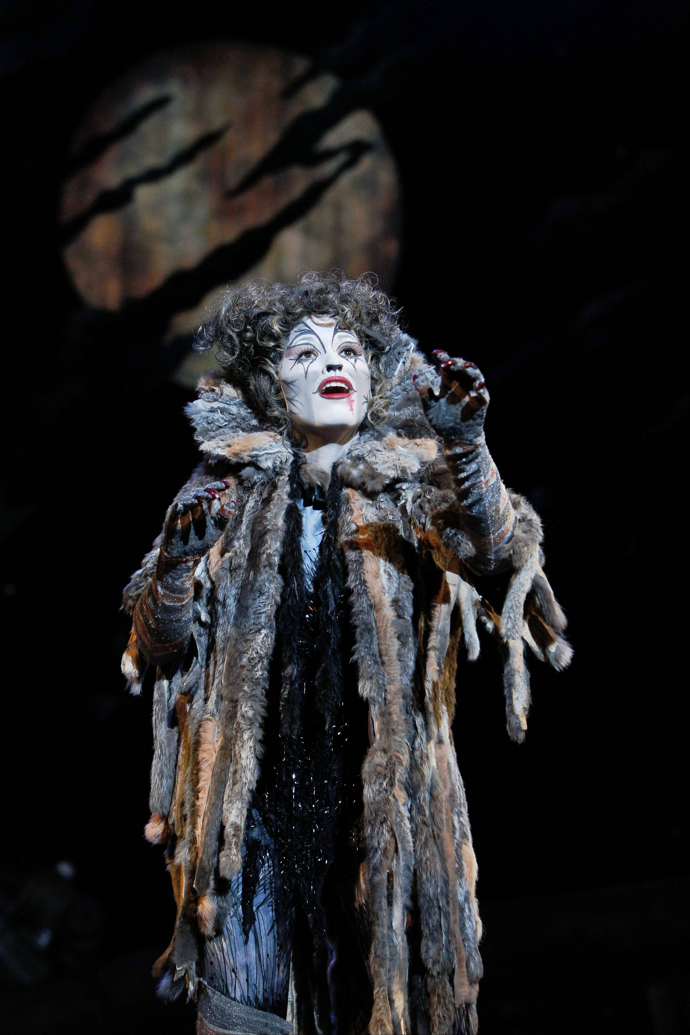 "The national tour of ""Cats"" returns to Chicago from Tuesday through Sunday, May 1-6, at the Cadillac Palace Theatre."