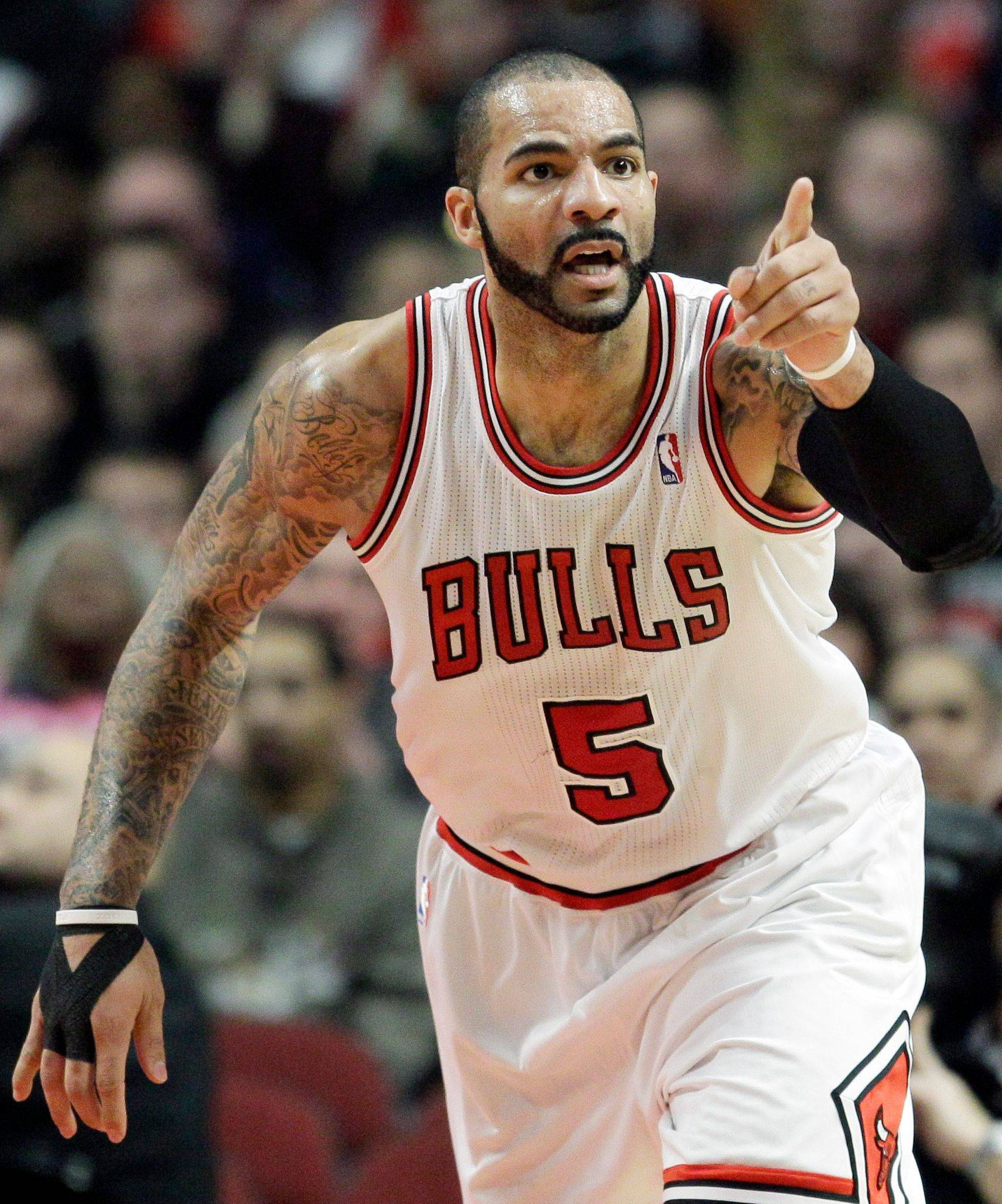 With just two contests remaining, Carlos Boozer figures to end up playing in every game of a season for the first time in his NBA career.
