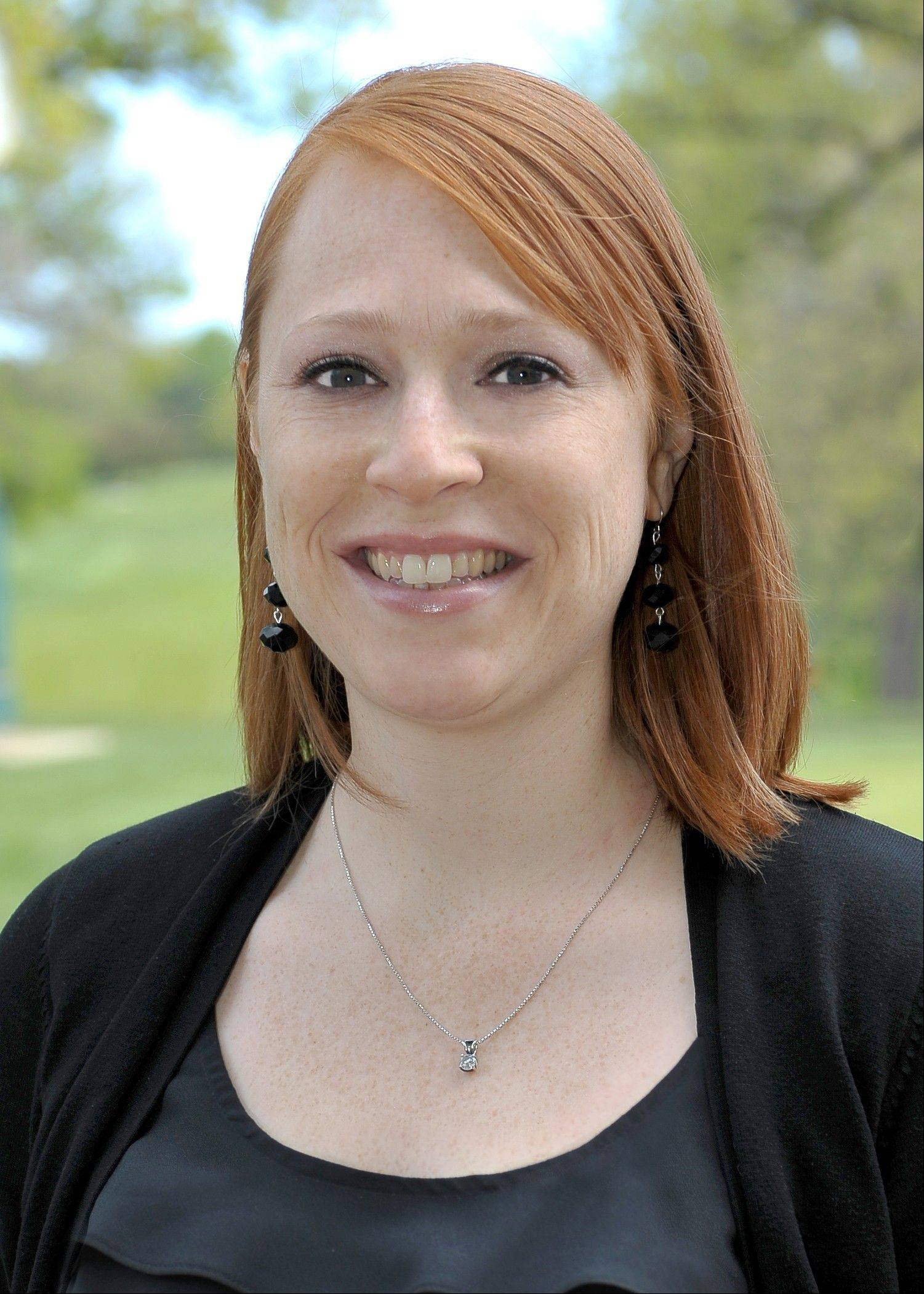 Melissa Brady, Manager of Volunteer Administation for the 2012 Ryder Cup.