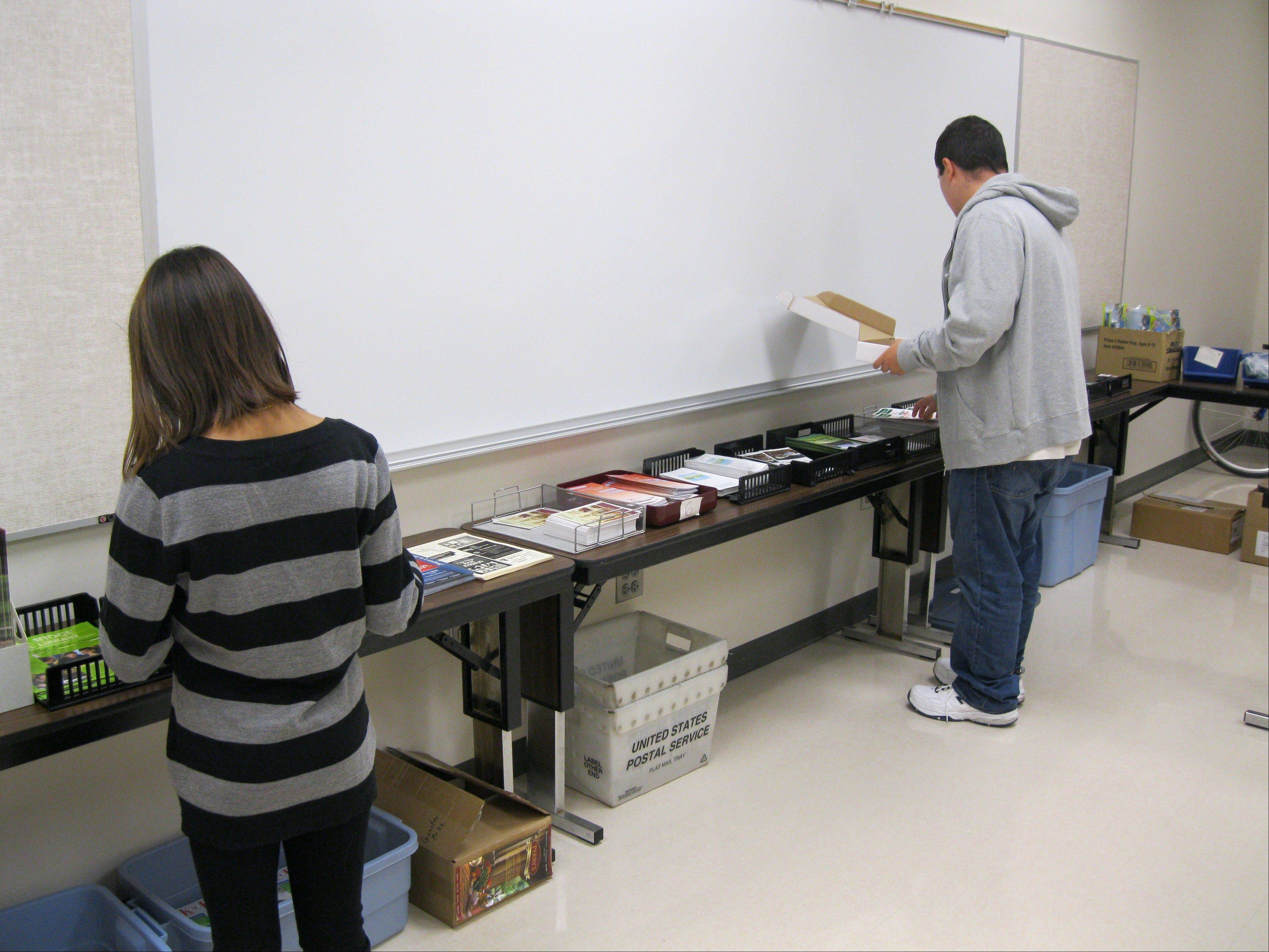 District 207's Transition Program is run from a recently remodeled and expanded facility at Maine East High School. Besides teaching living skills, the Transition Program staff coaches students in preparation to perform a variety of real-world work tasks.