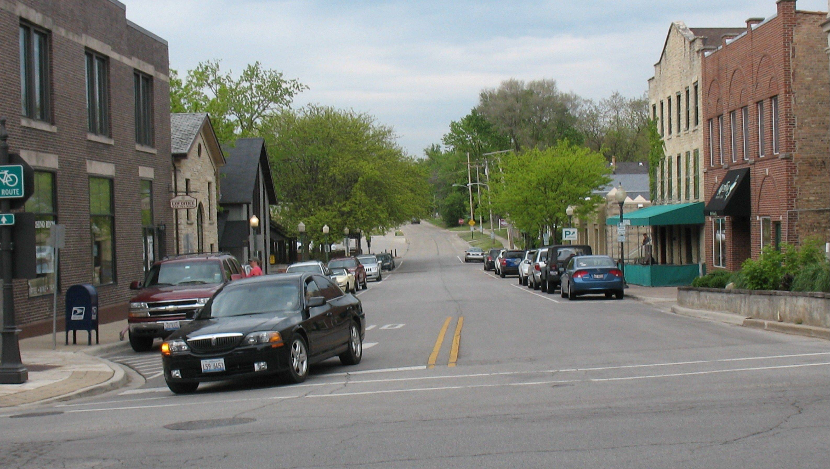 North River Street will be the first area to have work done to improve its looks and modify how it is used, as part of a streetscape project in downtown Batavia.
