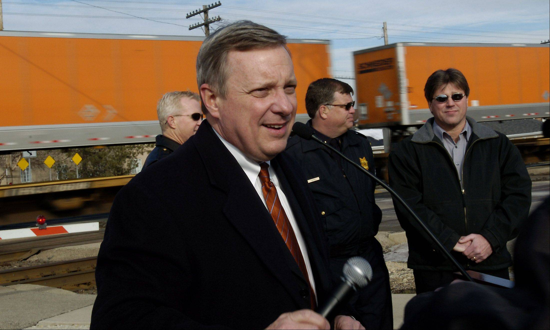 U.S. Sen. Dick Durbin was named to a committee tasked with settling differences between Senate and House bills on transportation funding.