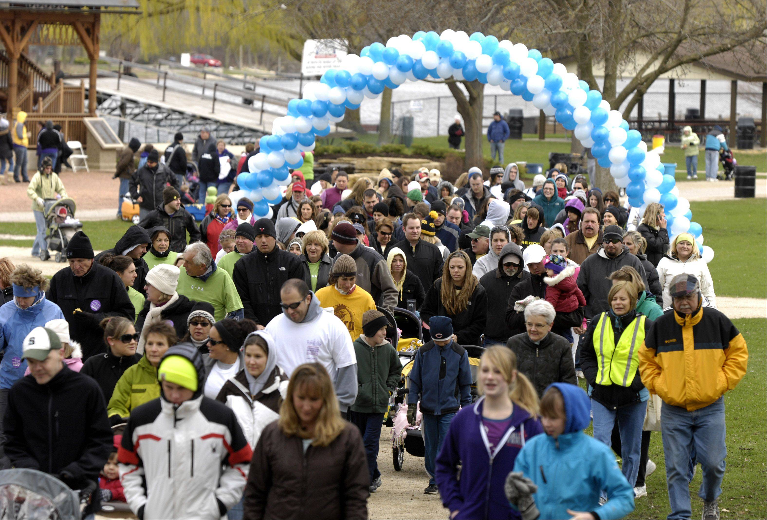 Hundreds of parents -- along with family, friends and children -- will walk Sunday, April 29, in the March for Babies. Walks are planned in Chicago and throughout the suburbs.