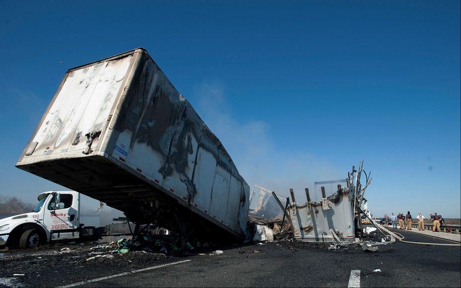 Report: Florida troopers erred before fatal crash