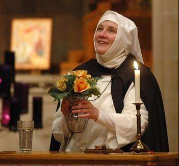 Sr. Nancy Murray will portray Saint Catherine of Siena this weekend at the West Dundee church of the same name. Nancy Murray is actor Bill Murray's sister and has taken her one-woman show about St. Catherine of Siena all over the country.