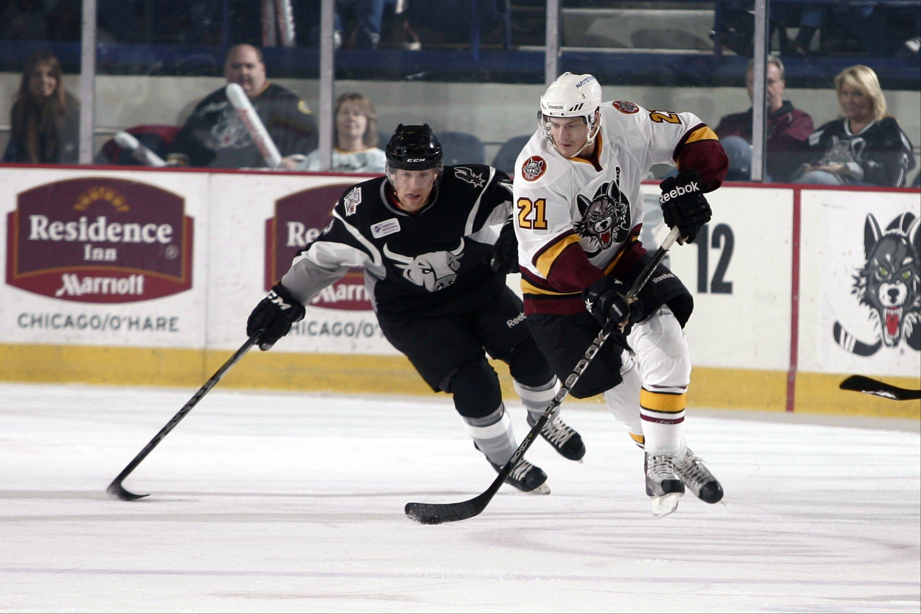 Wolves center Kevin Doell has 5 points against San Antonio in the Turner Cup playoffs, with Game 5 at 7:30 p.m. Friday at Allstate Arena. Wolves center Steve Reinprecht scored two key goals Wednesday to avoid elimination and set up Friday's decisive match.