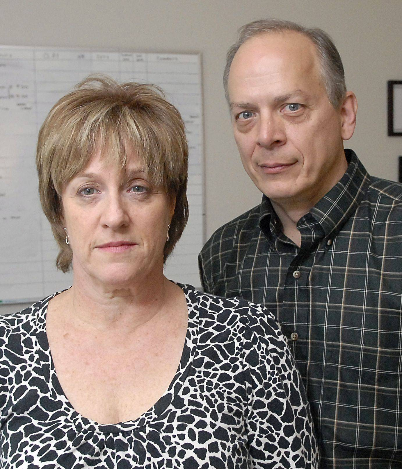 St. Charles residents Paul and Deb Conn said they lost service when Sprint began upgrading its network.