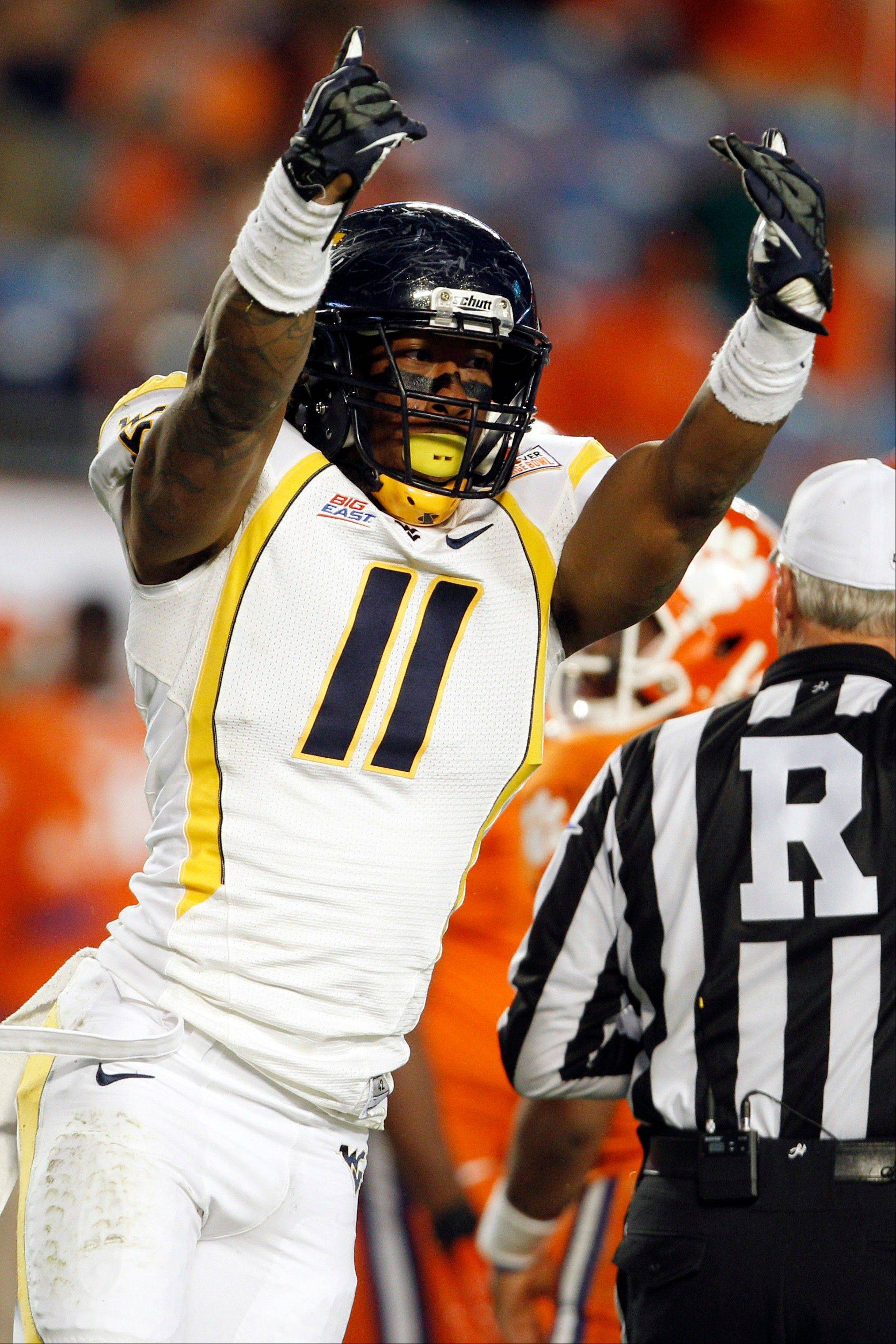 West Virginia defensive end Bruce Irvin was selected as the 15th pick overall by the Seattle Seahawks in the first round of the NFL Draft at Radio City Music Hall.